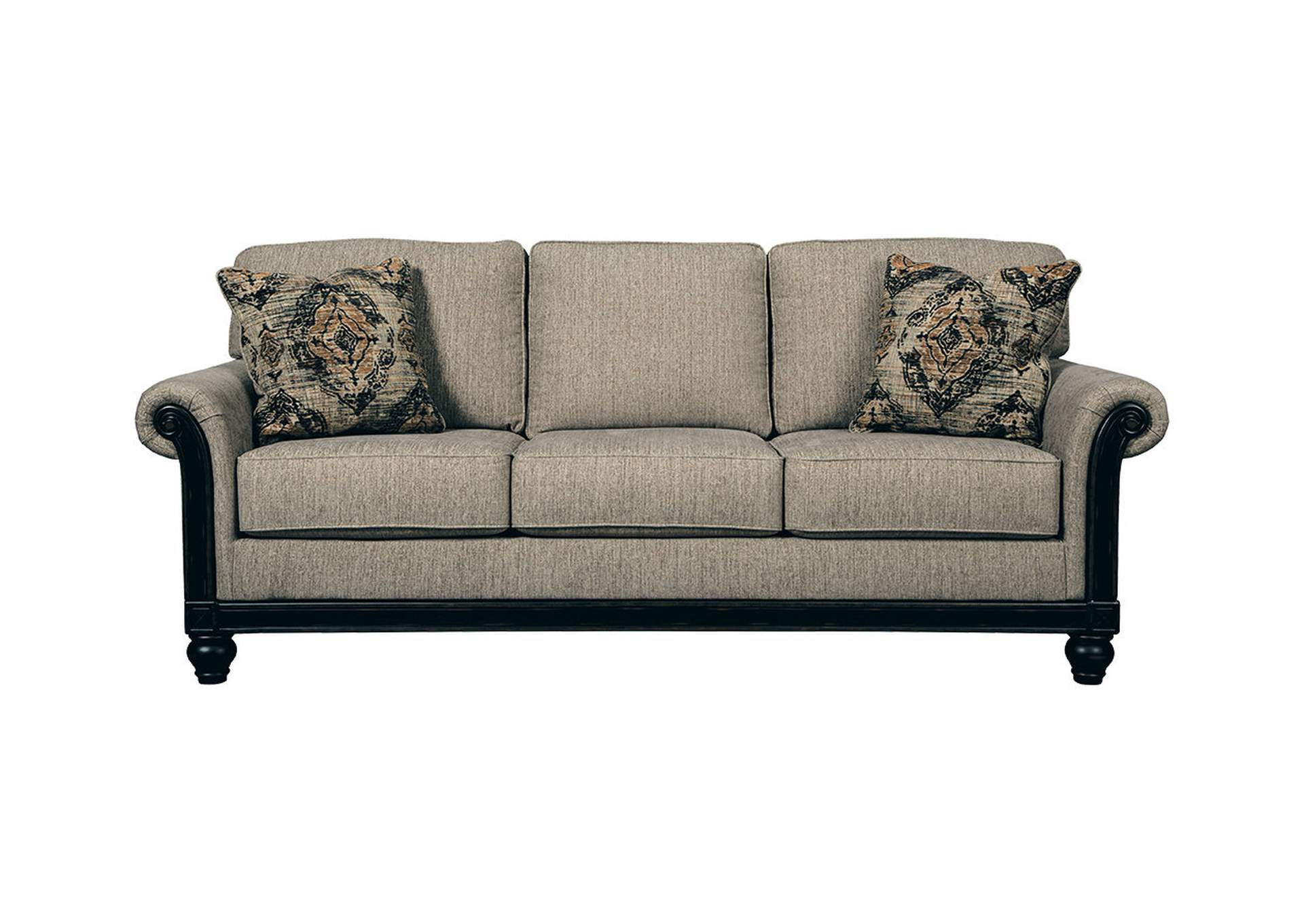 Blackwood Taupe Queen Sofa Sleeper,Signature Design By Ashley