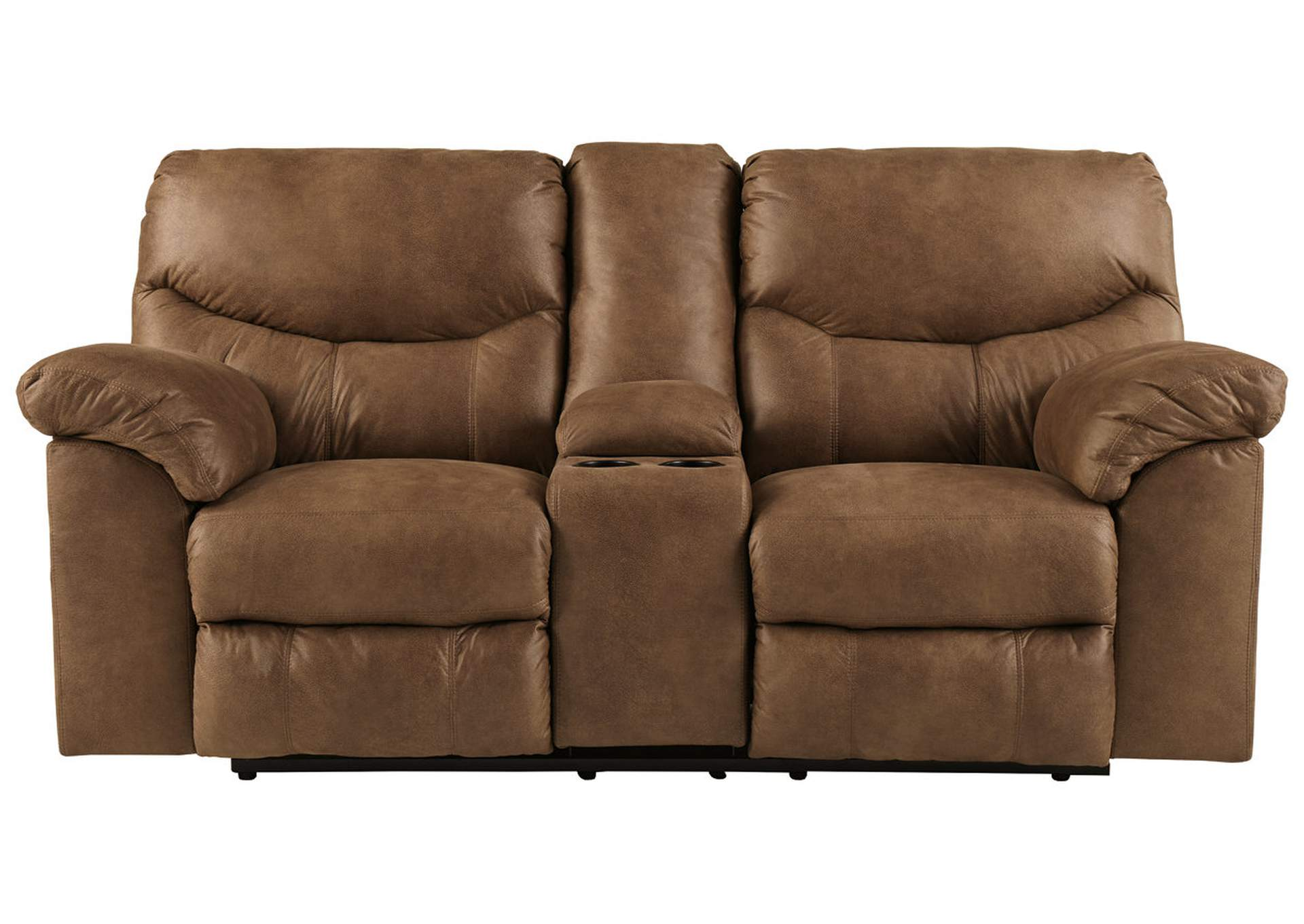 Boxberg Bark Double Power Reclining Loveseat w/Console,Signature Design By Ashley