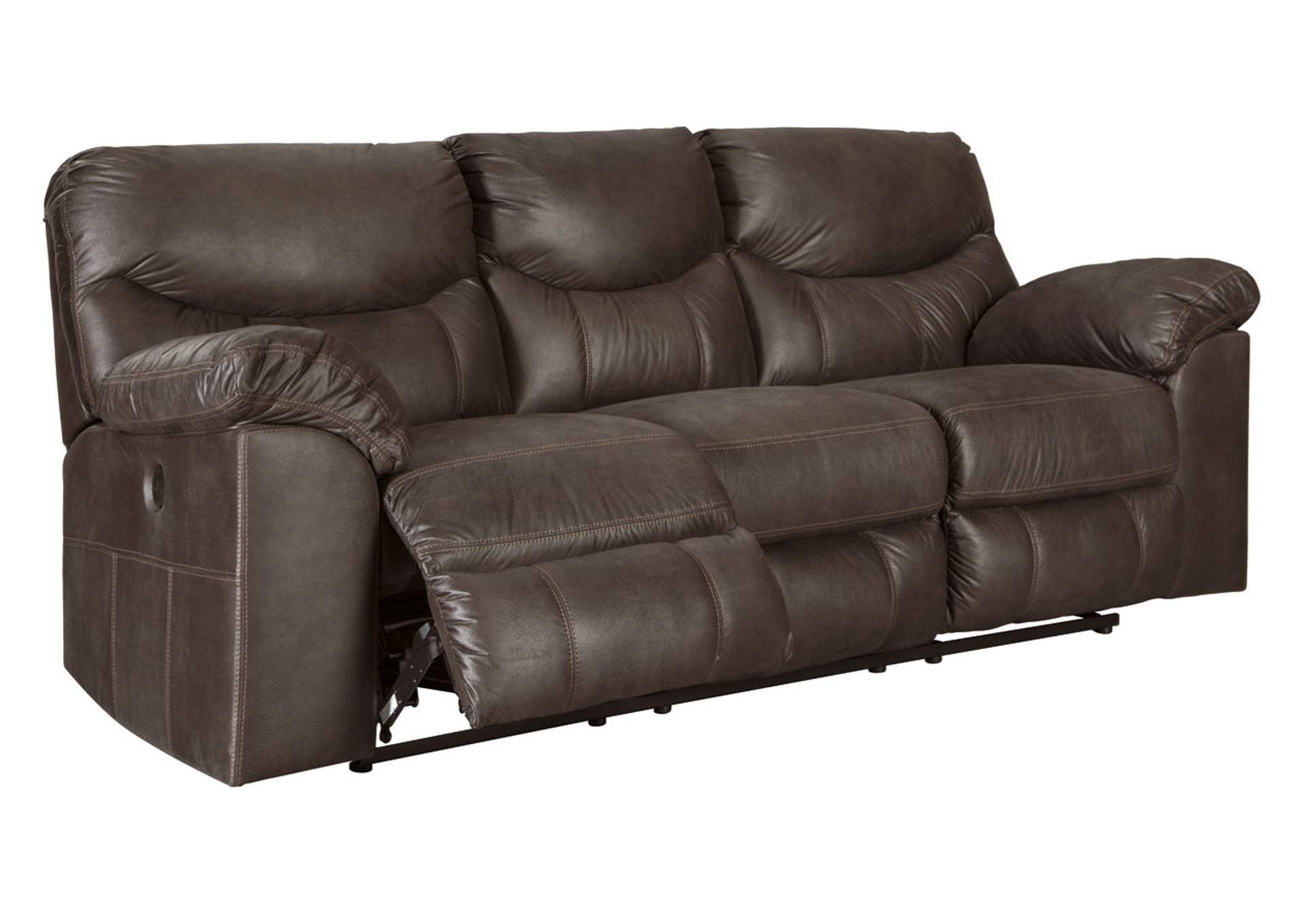 Boxberg Teak Reclining Power Sofa,Signature Design By Ashley