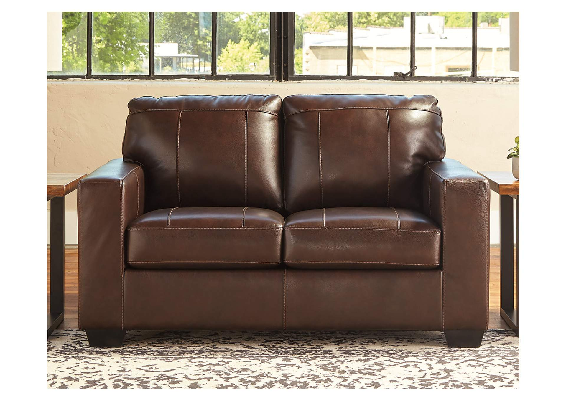Morelos Chocolate Loveseat,Signature Design By Ashley