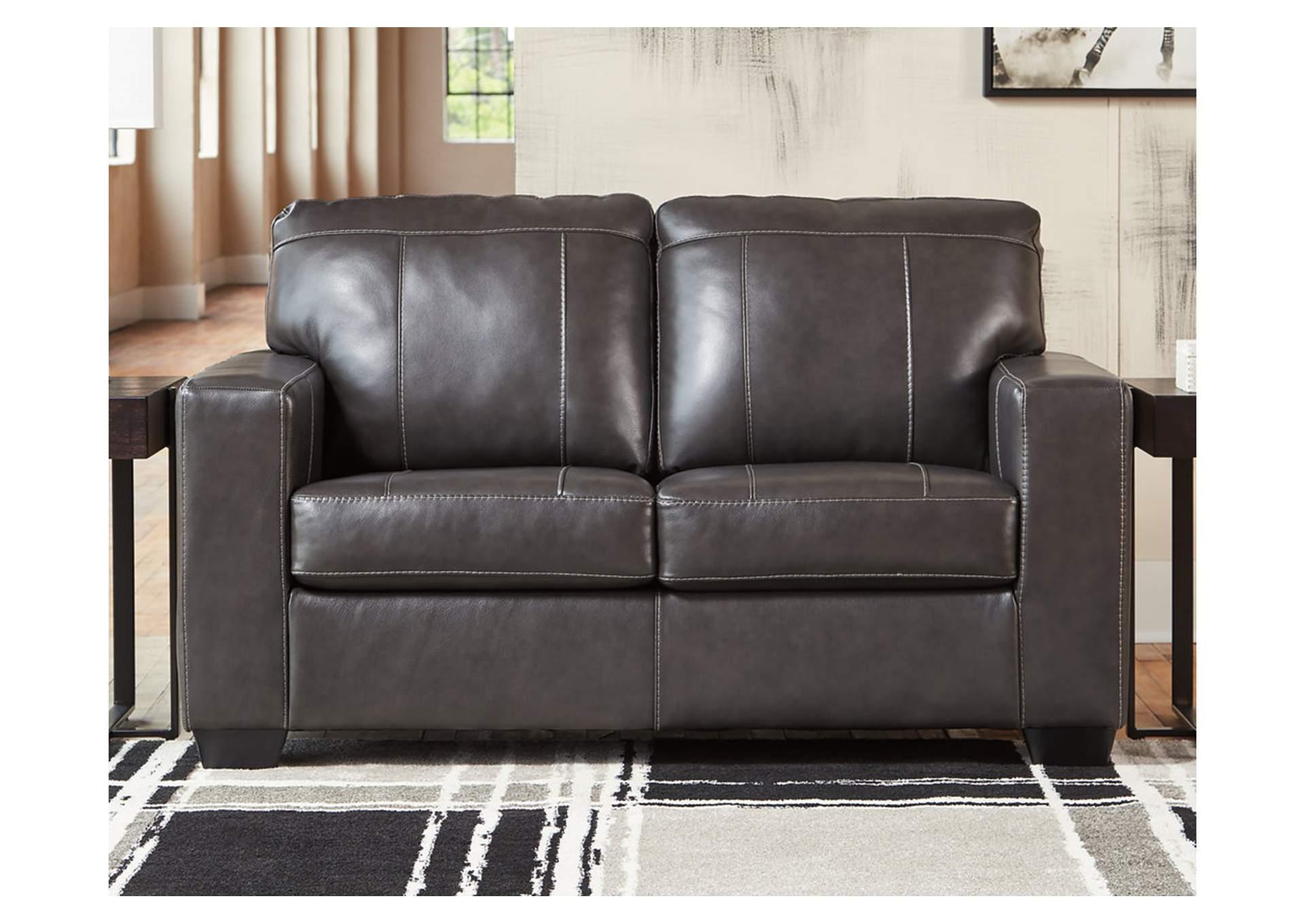 Tremendous American Furniture Design Morelos Gray Loveseat Short Links Chair Design For Home Short Linksinfo