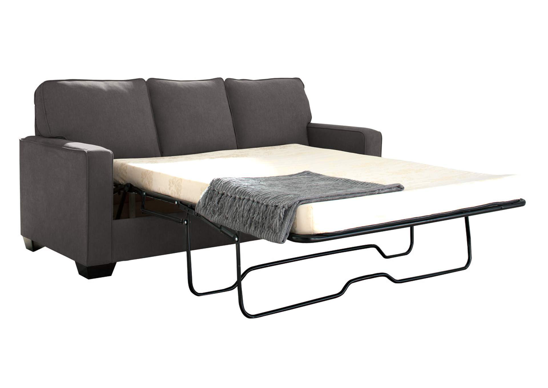 Zeb Charcoal Full Sofa Sleeper,Signature Design By Ashley