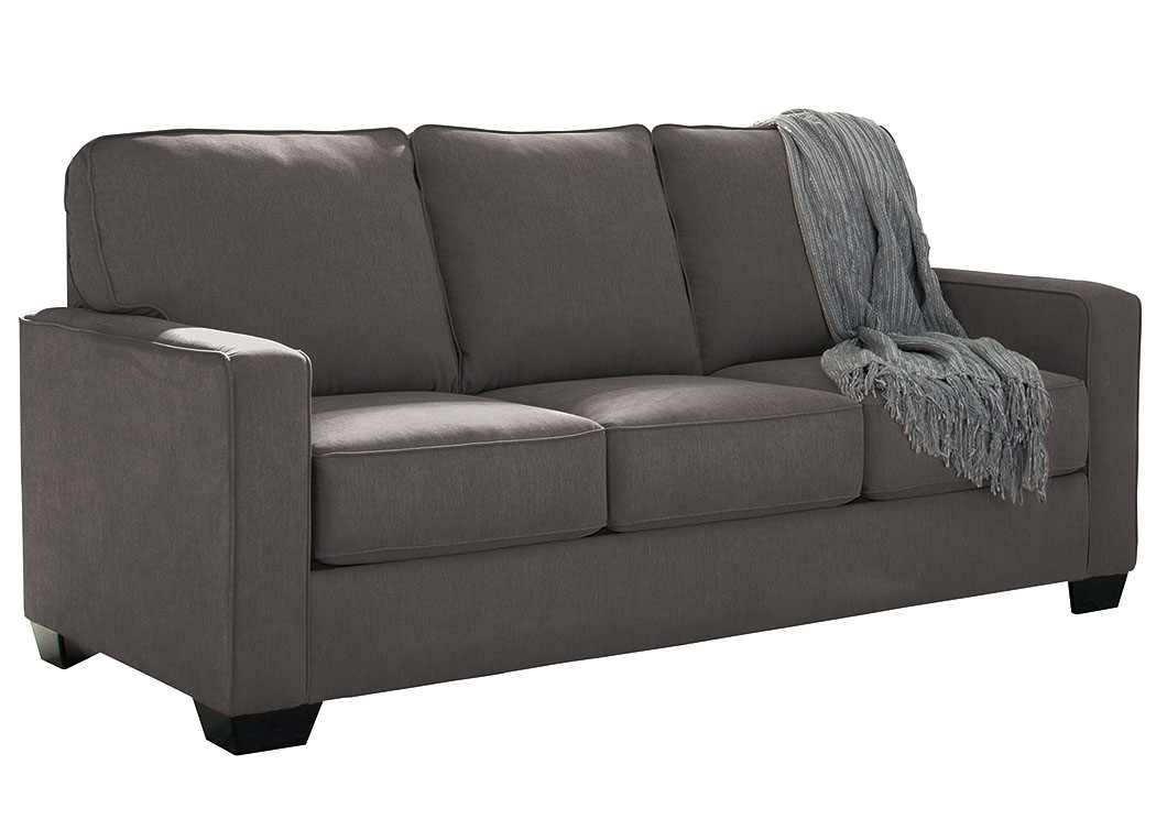 Ivan Smith Zeb Charcoal Full Sofa Sleeper