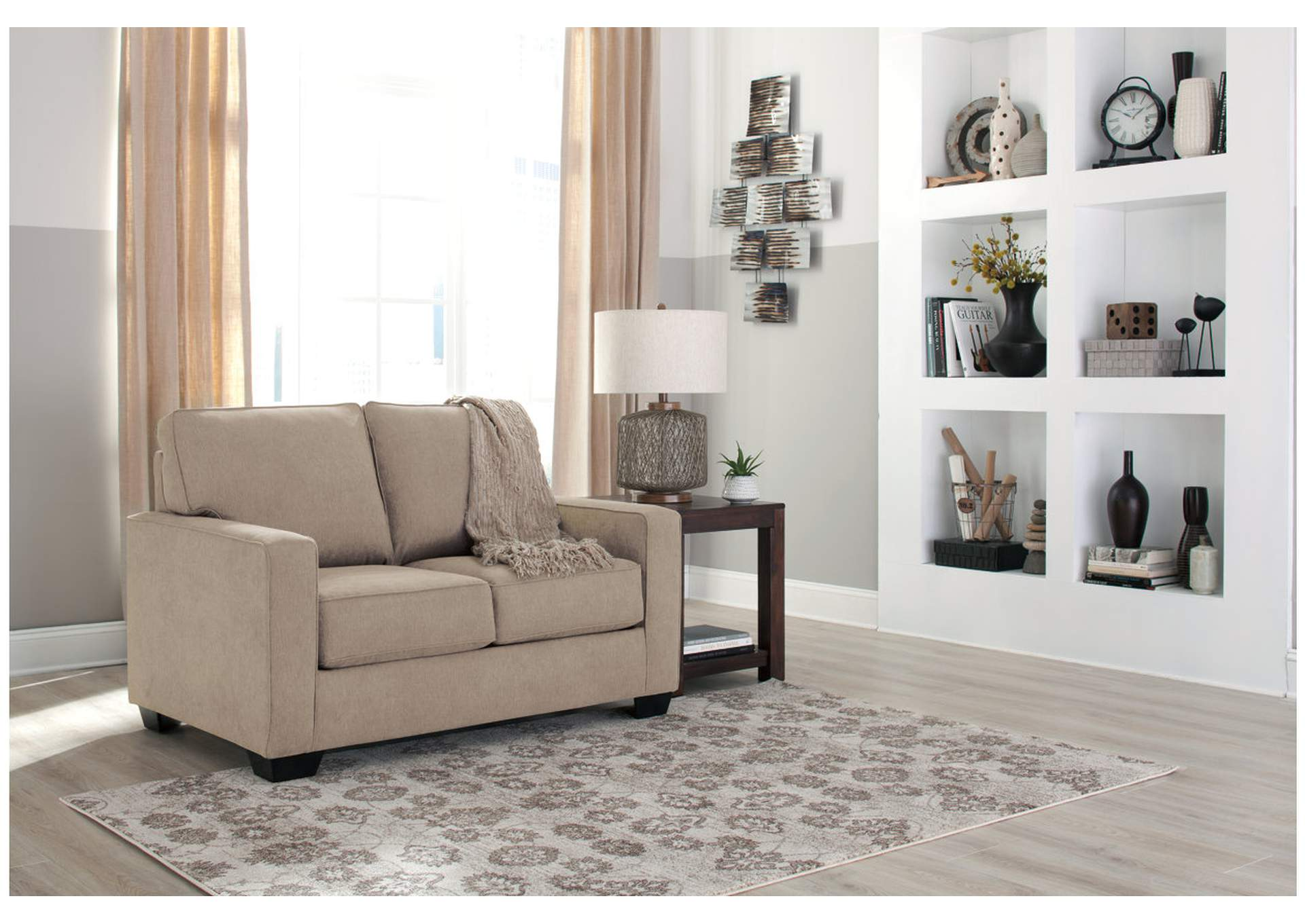Zeb Quartz Twin Sofa Sleeper,Signature Design By Ashley