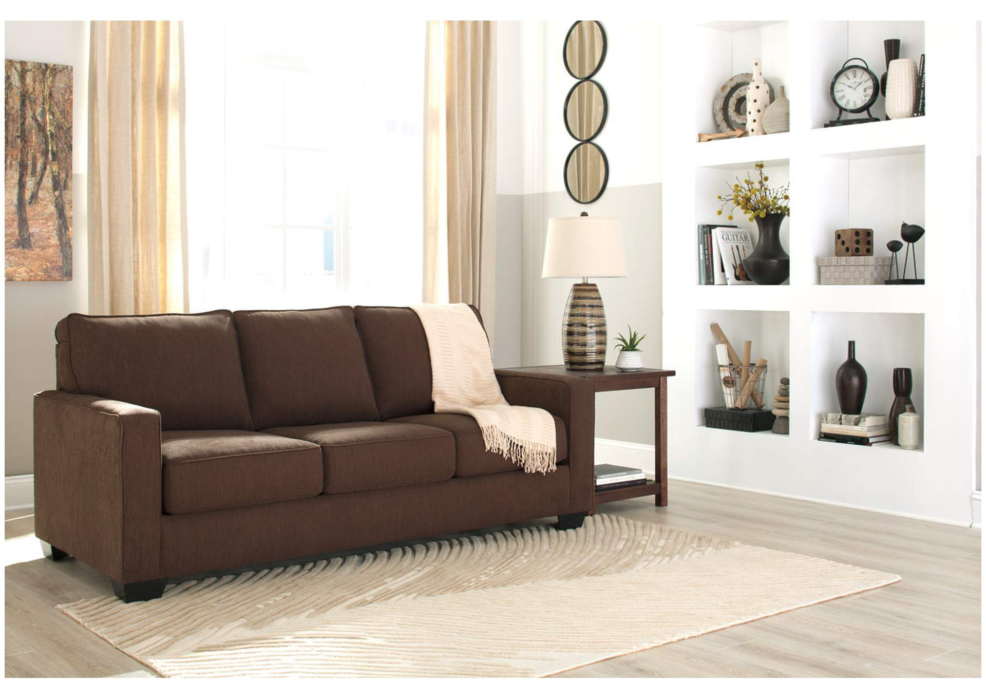 Zeb Espresso Queen Sofa Sleeper,Signature Design By Ashley