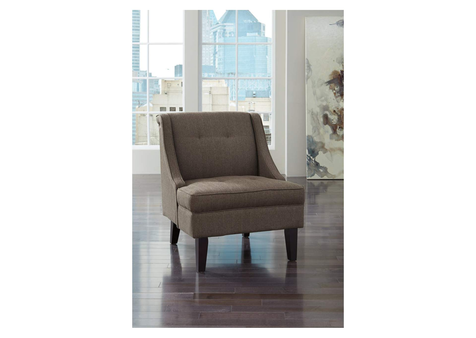Lancaster S Furniture To Go Clarinda Gray Accent Chair