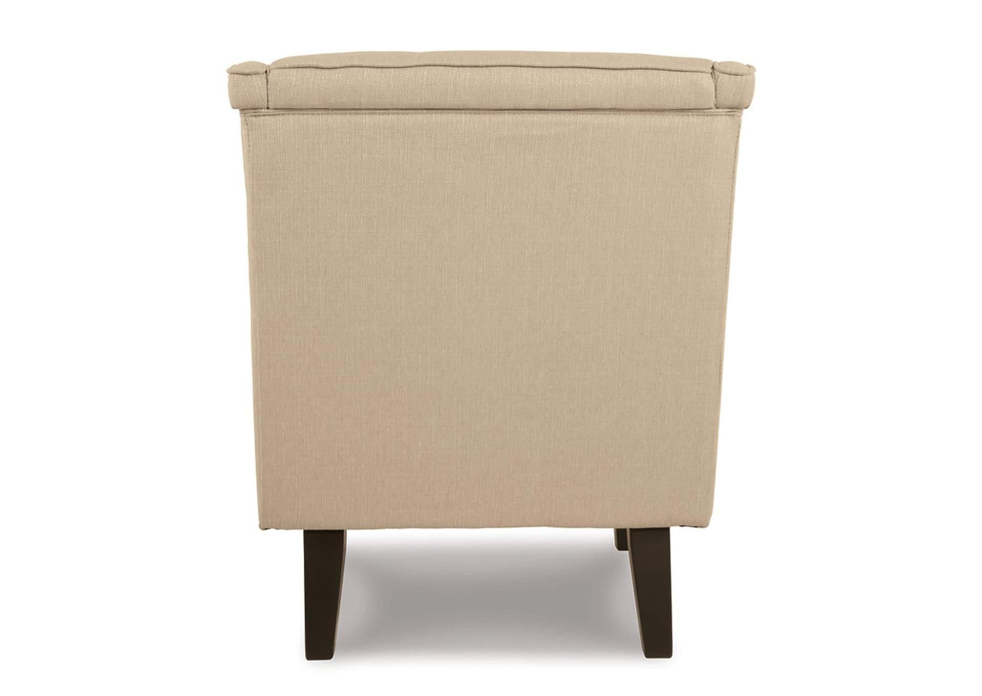 Roses Flooring And Furniture Clarinda Cream Accent Chair