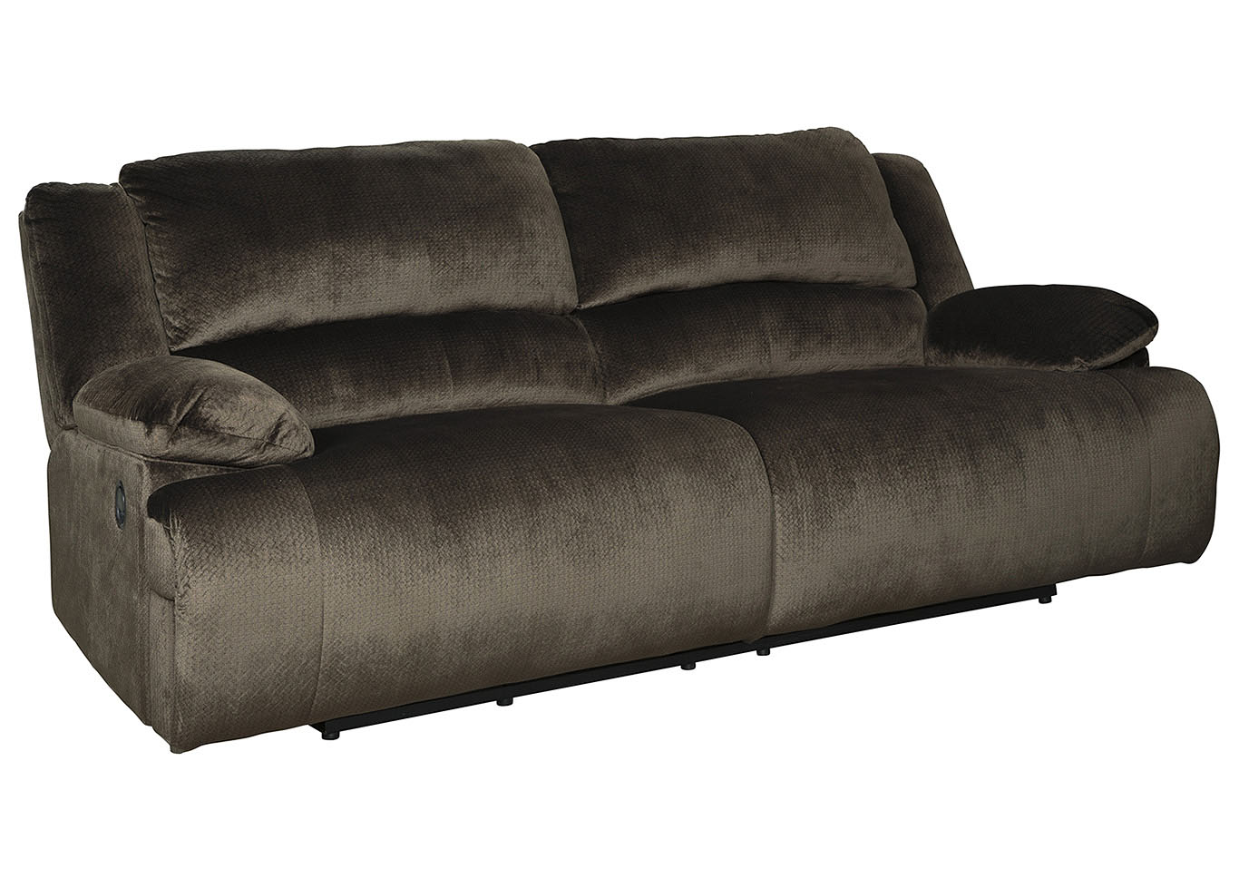 Clonmel Chocolate 2 Seat Reclining Sofa,Signature Design By Ashley