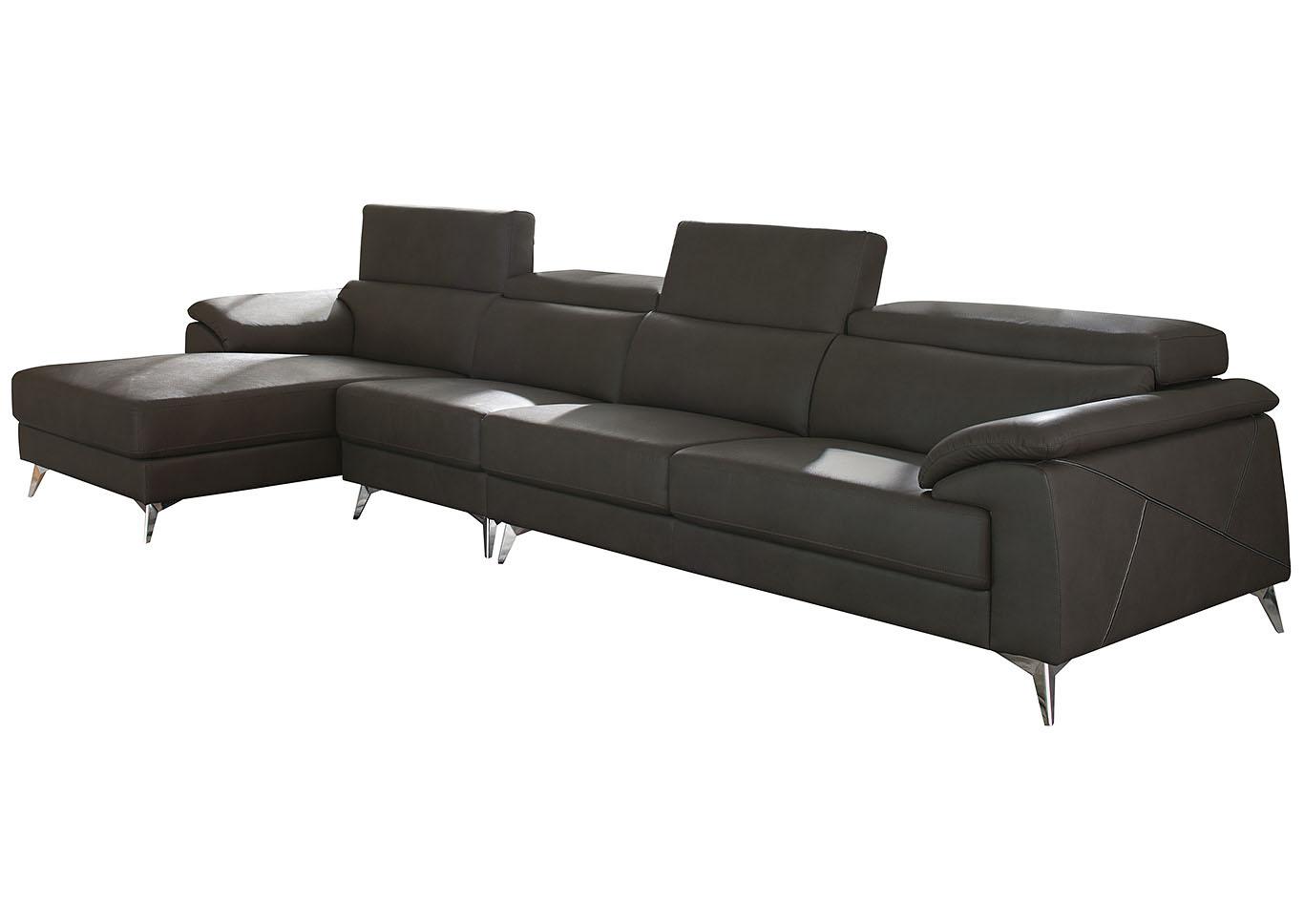 Utah Furniture Direct - Ogden, Utah Tindell Gray Extended Right ...