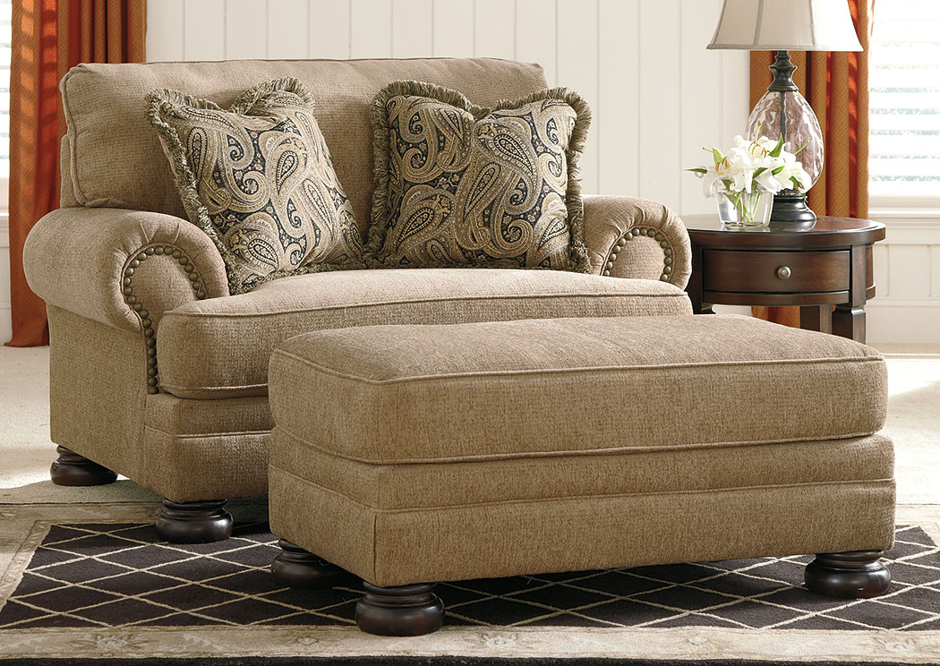 Keereel Sand Ottoman,Signature Design By Ashley