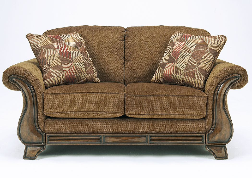Montgomery Mocha Loveseat,Signature Design By Ashley