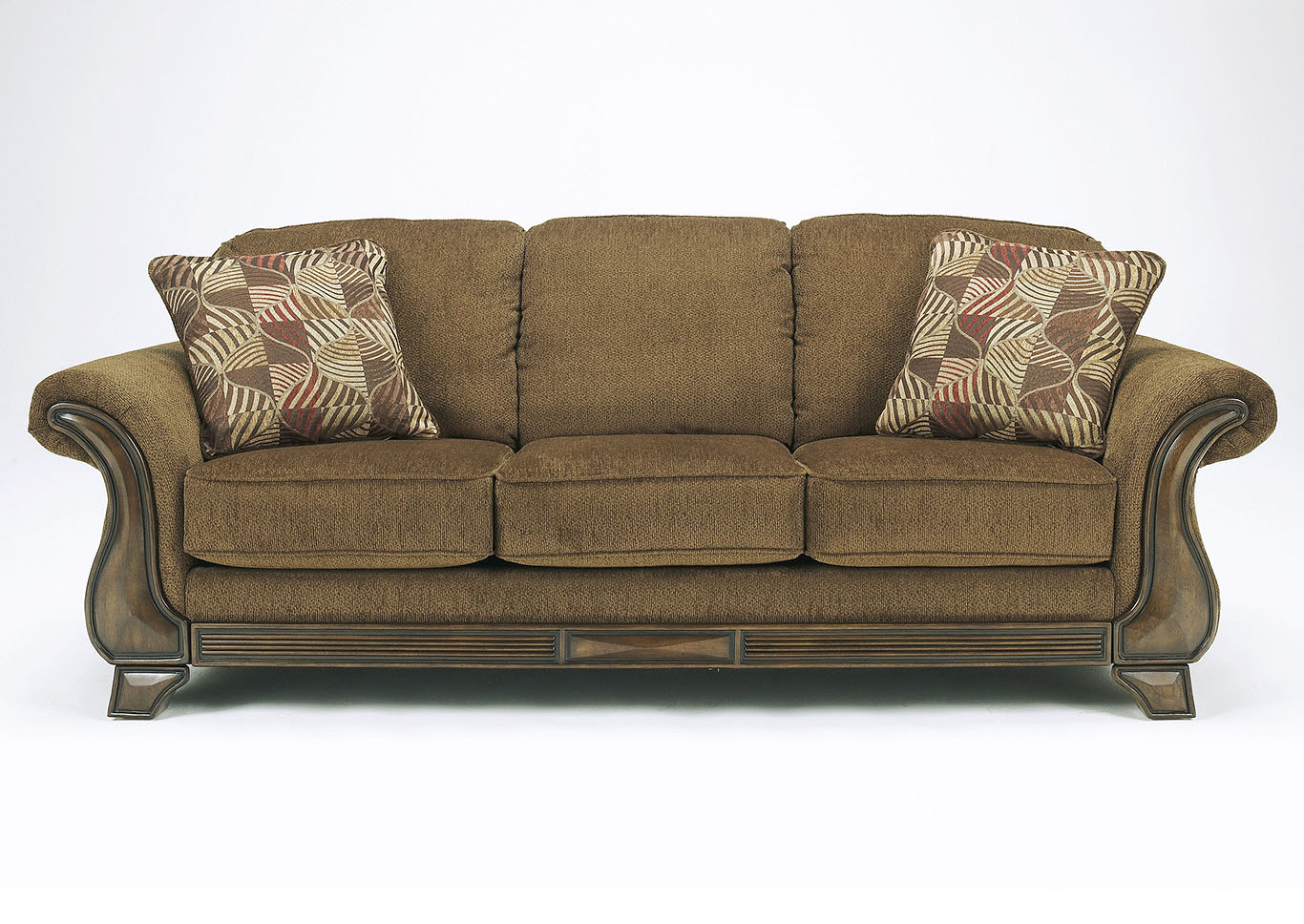 Montgomery Mocha Queen Sleeper Sofa,Signature Design By Ashley