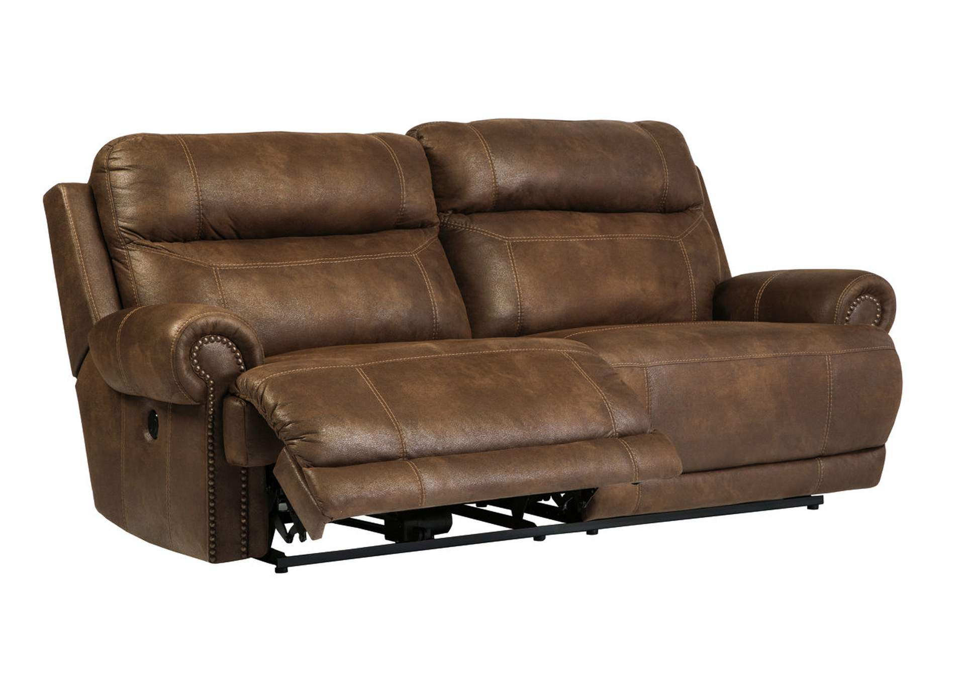 Austere Brown 2 Seat Power Reclining Sofa,Signature Design By Ashley