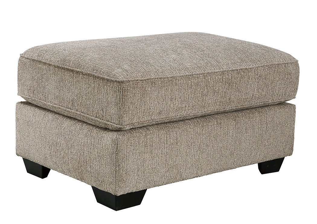 Pantomine Driftwood Oversized Accent Ottoman,Benchcraft