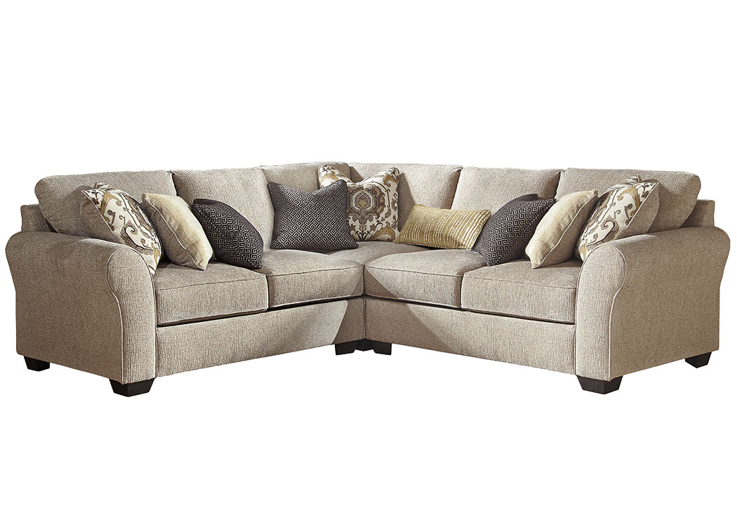 Pantomine Driftwood 3 Piece Sectional,Benchcraft