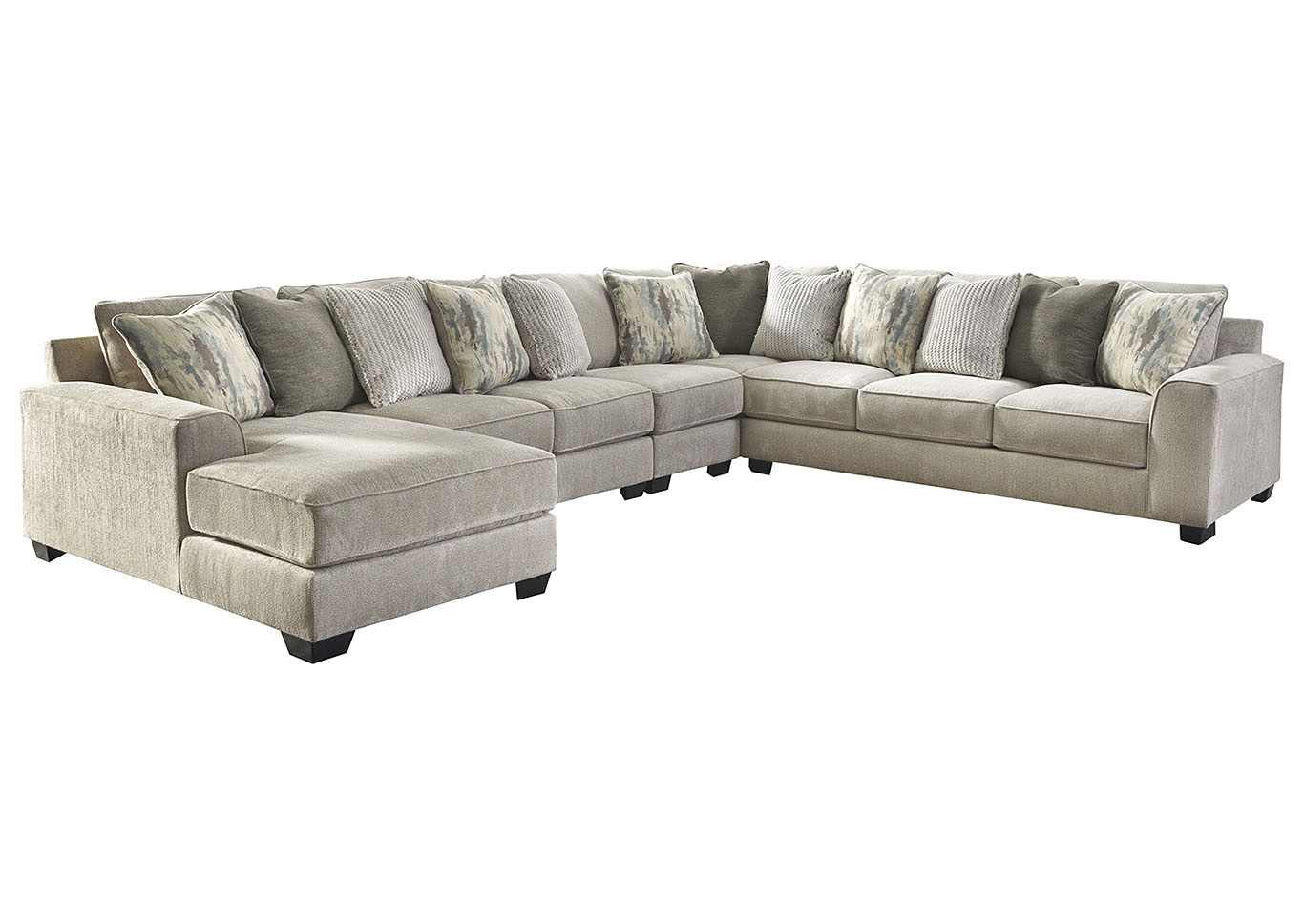 Ardsley 5-Piece Sectional with Chaise,Benchcraft