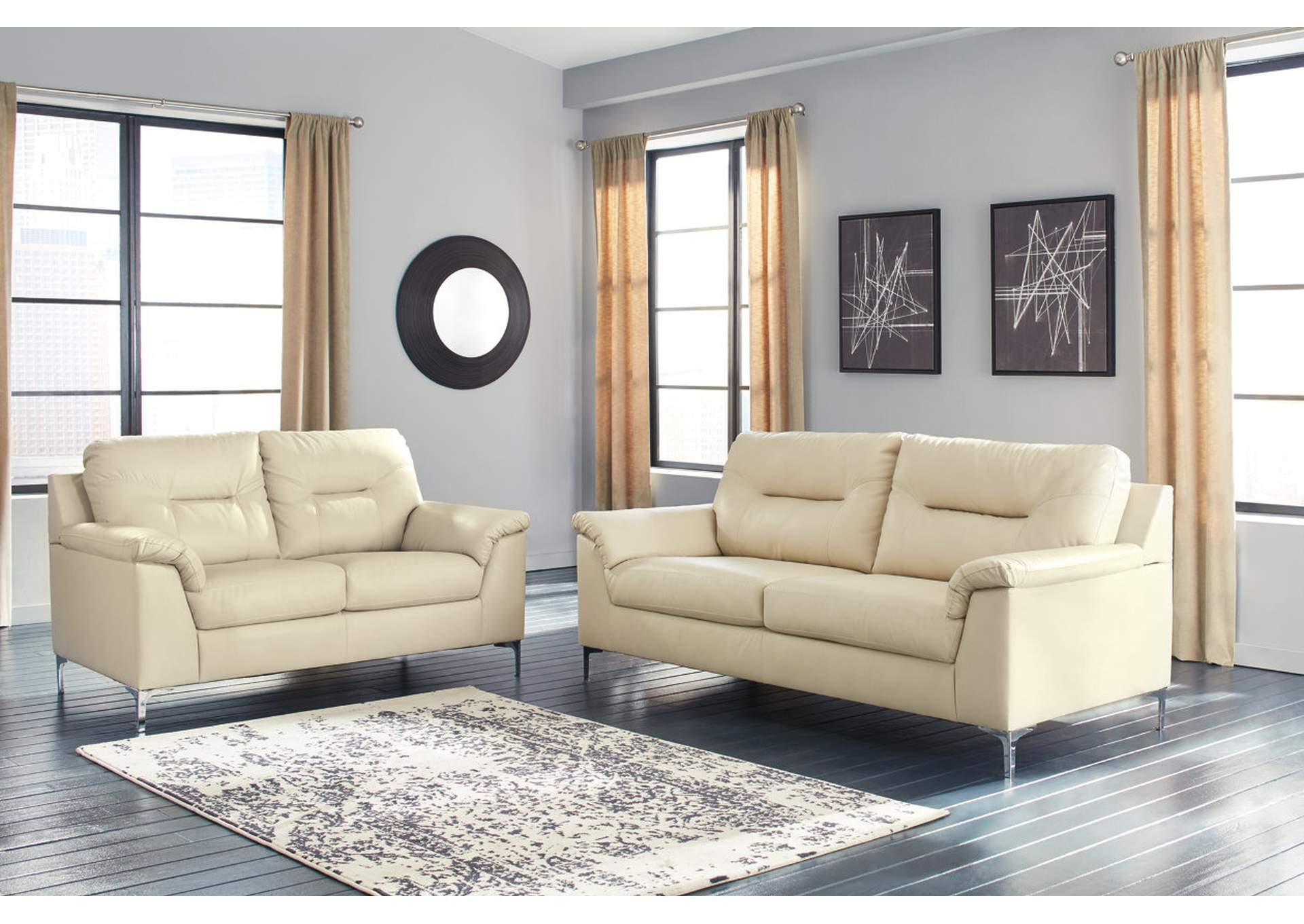 Tensas Ice Sofa Loveseat,Signature Design By Ashley