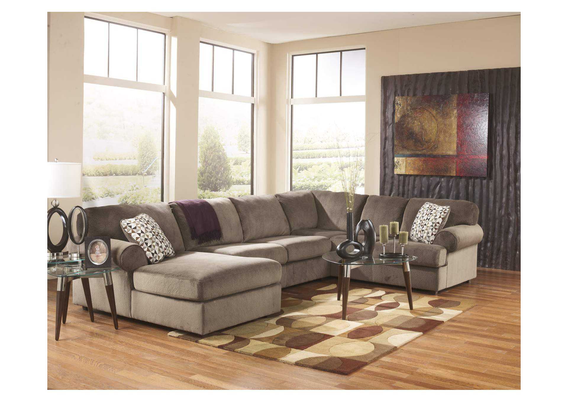 Jessa Place Dune LAF Chaise Sectional,Signature Design By Ashley