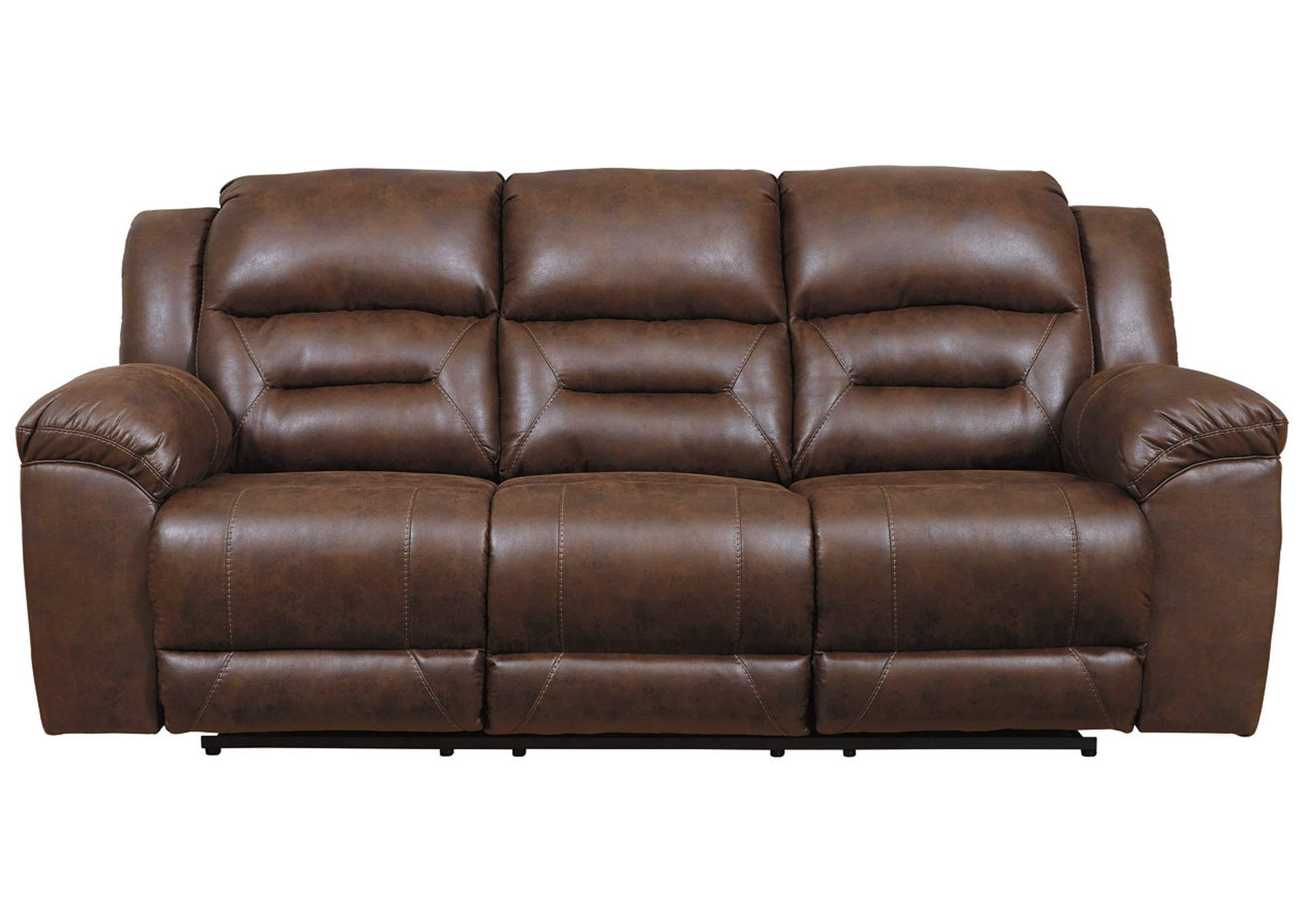 Stoneland Chocolate Power Reclining Sofa,Signature Design By Ashley