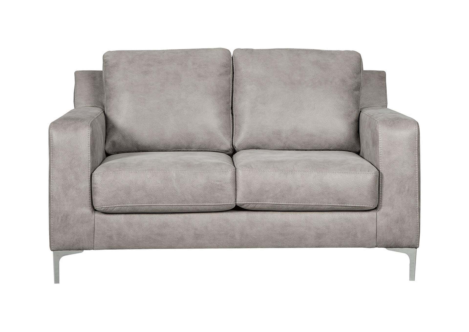 Ryler Steel Loveseat,Signature Design By Ashley