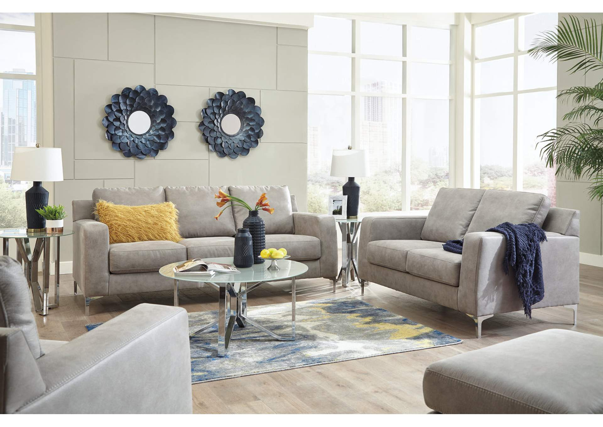 Ryler Steel Sofa,Signature Design By Ashley
