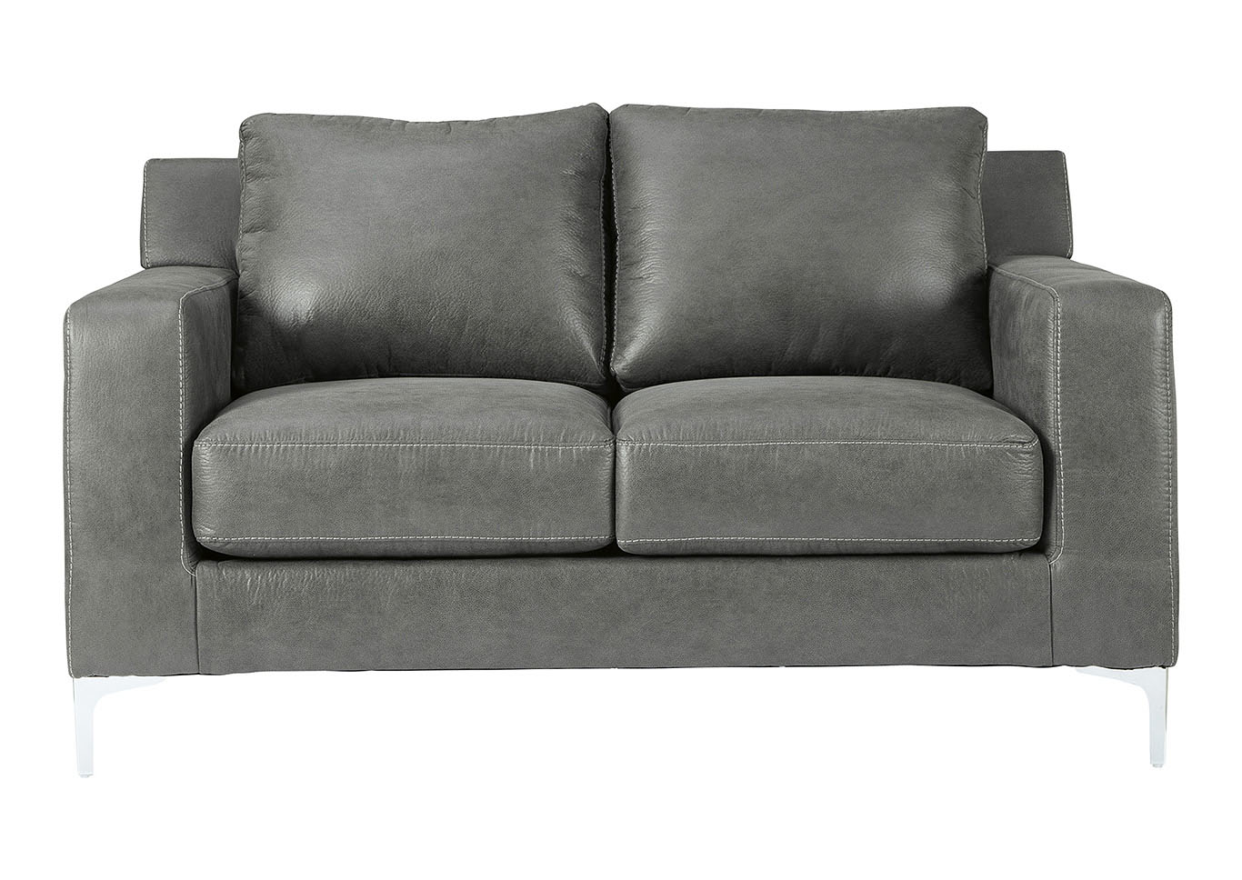 Ryler Charcoal Loveseat,Signature Design By Ashley