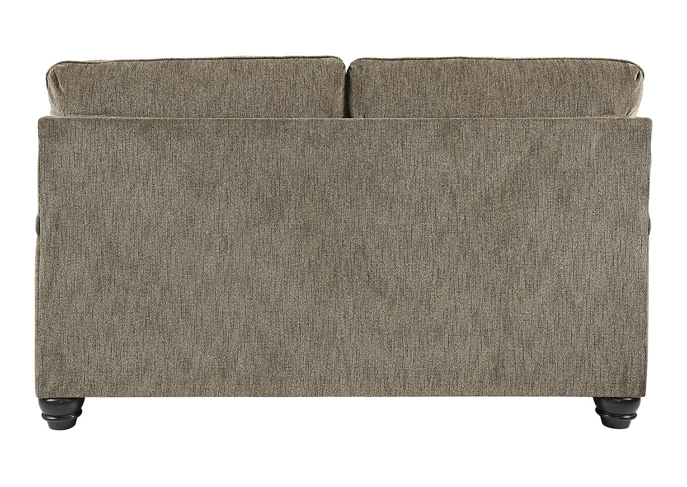 Braemar Brown Loveseat w/4 Pillows,Signature Design By Ashley