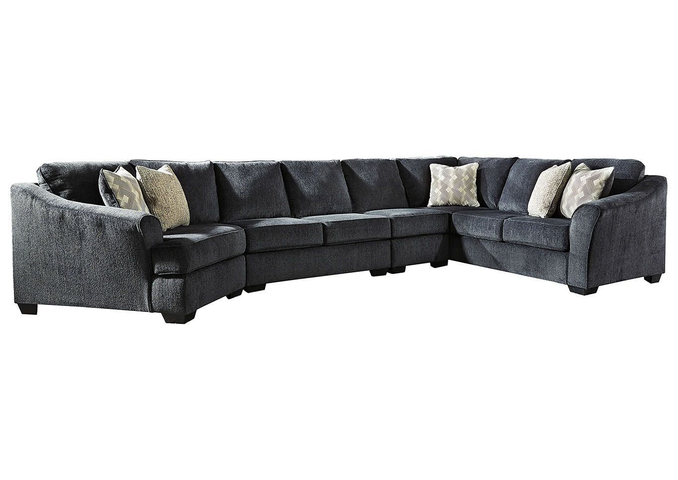 Eltmann Slate LAF Extended Sectional,Signature Design By Ashley