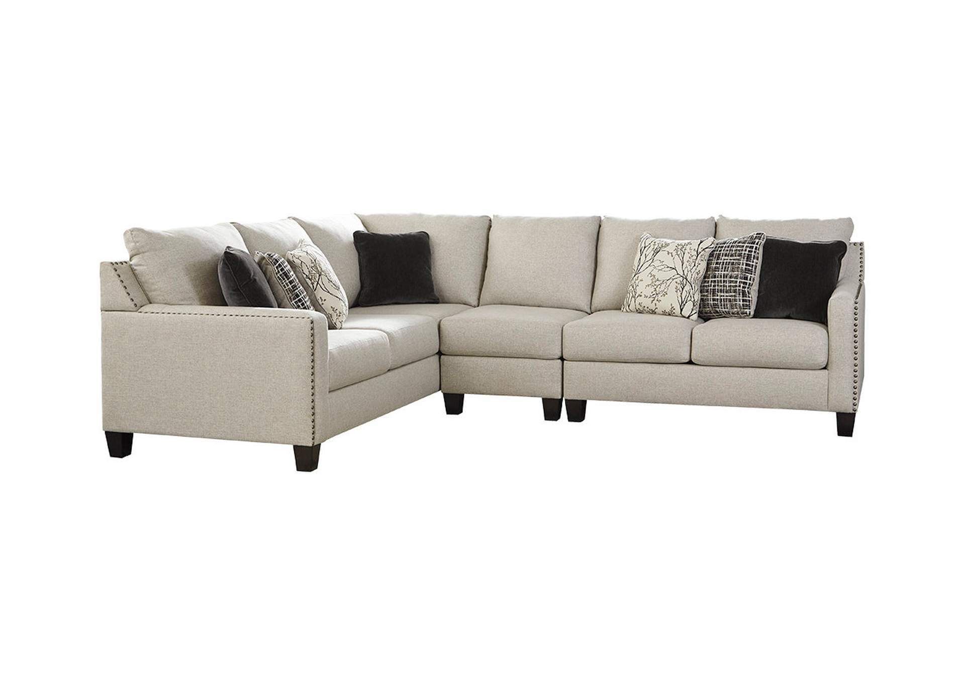 Hallenberg Fog RAF Chaise Sectional,Signature Design By Ashley