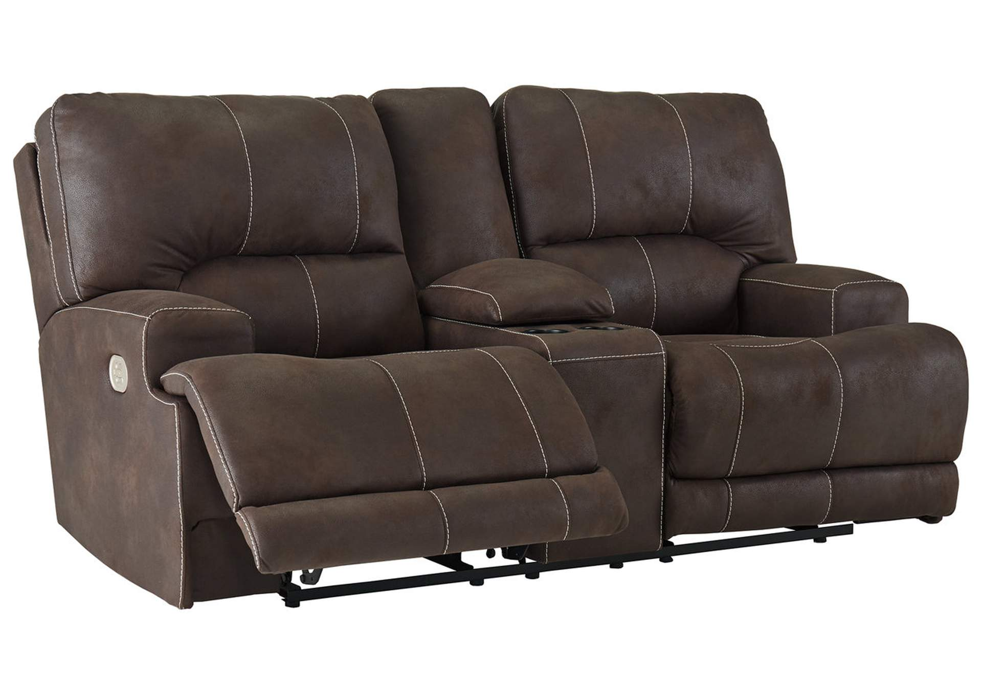 Kitching Java Power Reclining Loveseat,Signature Design By Ashley