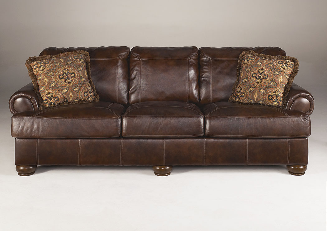 Axiom Walnut Sofa,Signature Design By Ashley