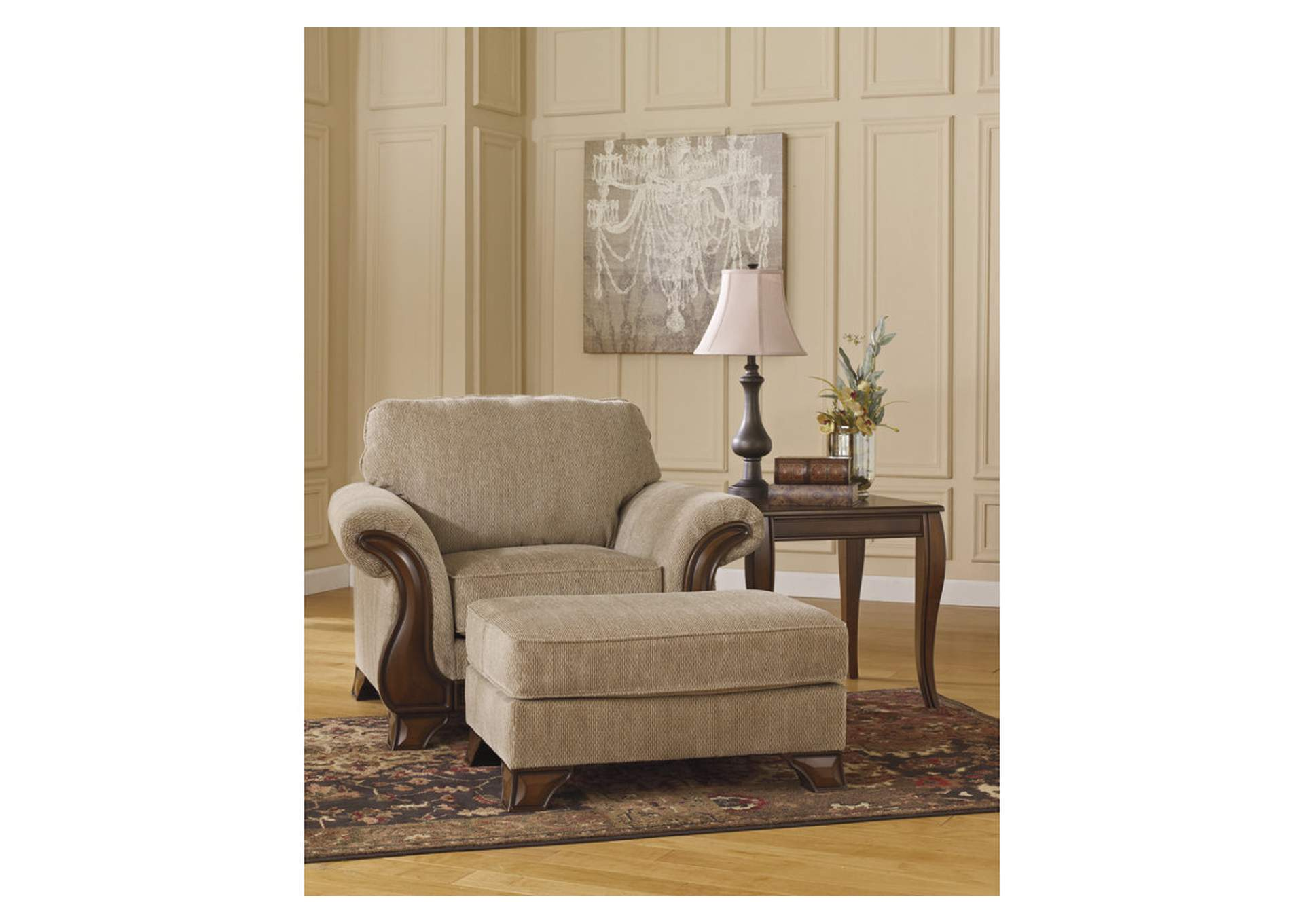 Lanett Chair & Ottoman,Signature Design By Ashley