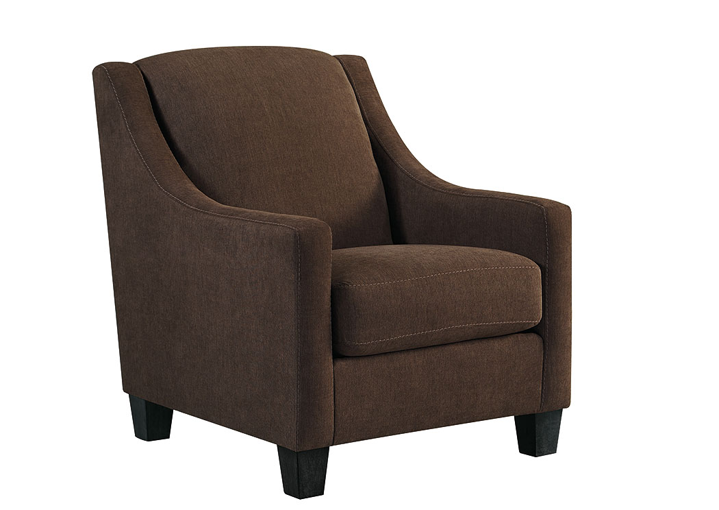 Maier Walnut Accent Chair,Benchcraft