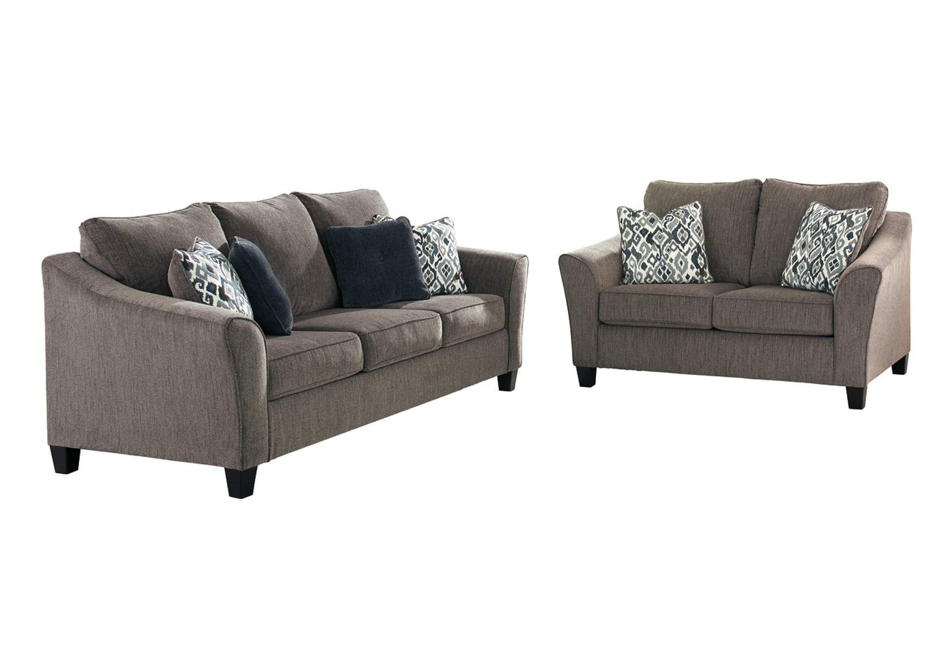 Nemoli Slate Queen Sofa Sleeper,Signature Design By Ashley