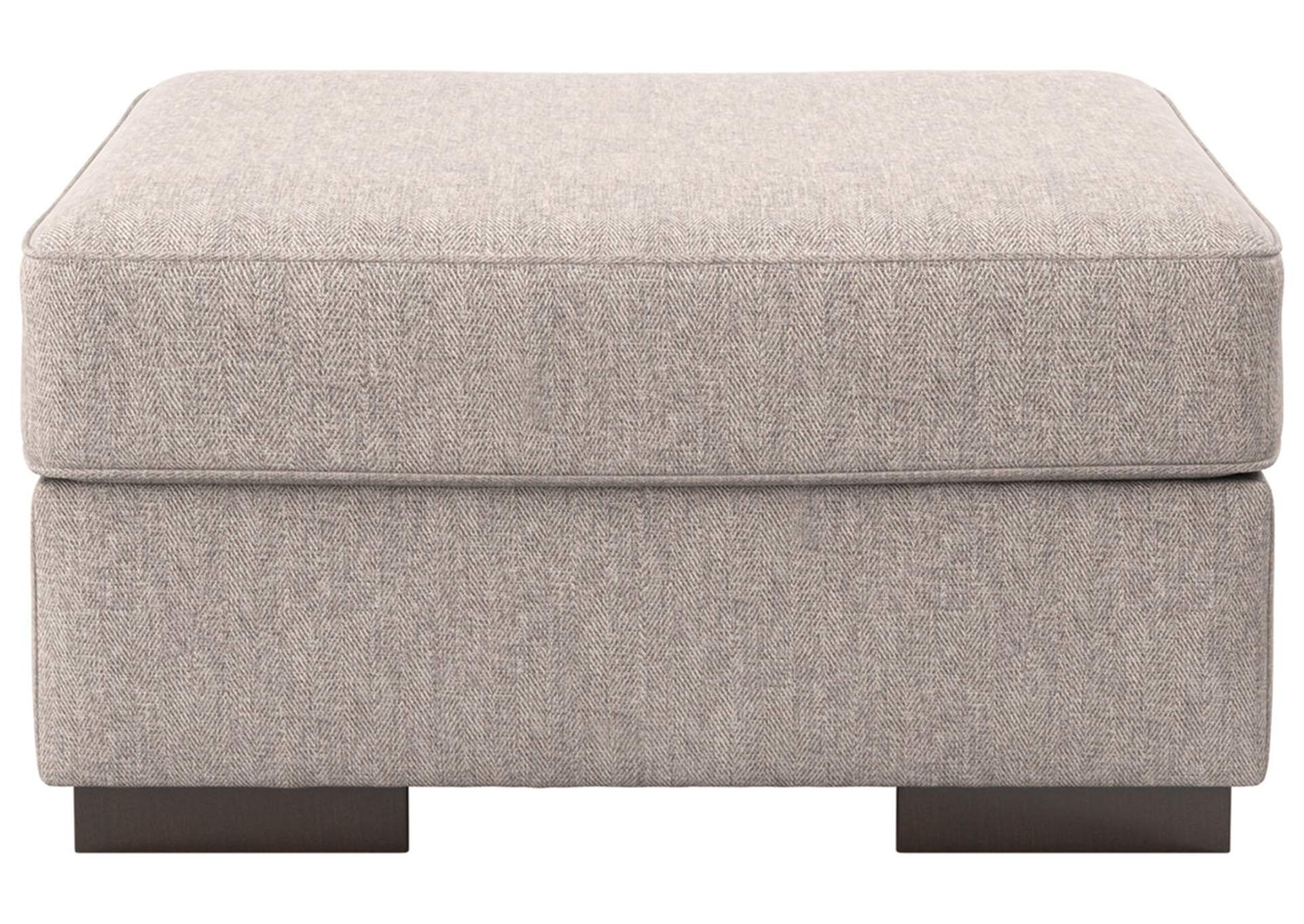 Ashlor Nuvella Slate Ottoman,Ashley