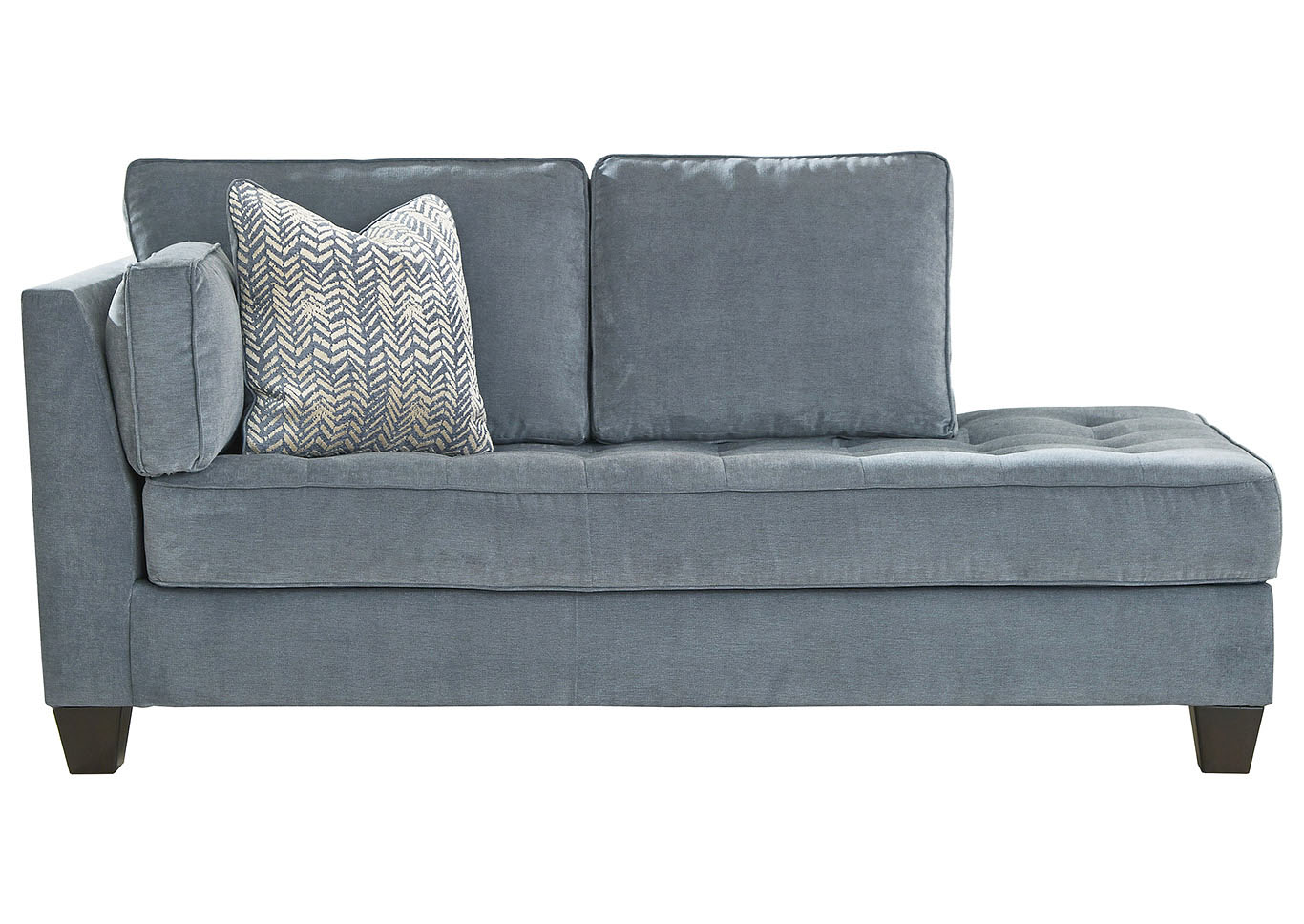 Sciolo Cobalt Left Facing Corner Chaise,Ashley
