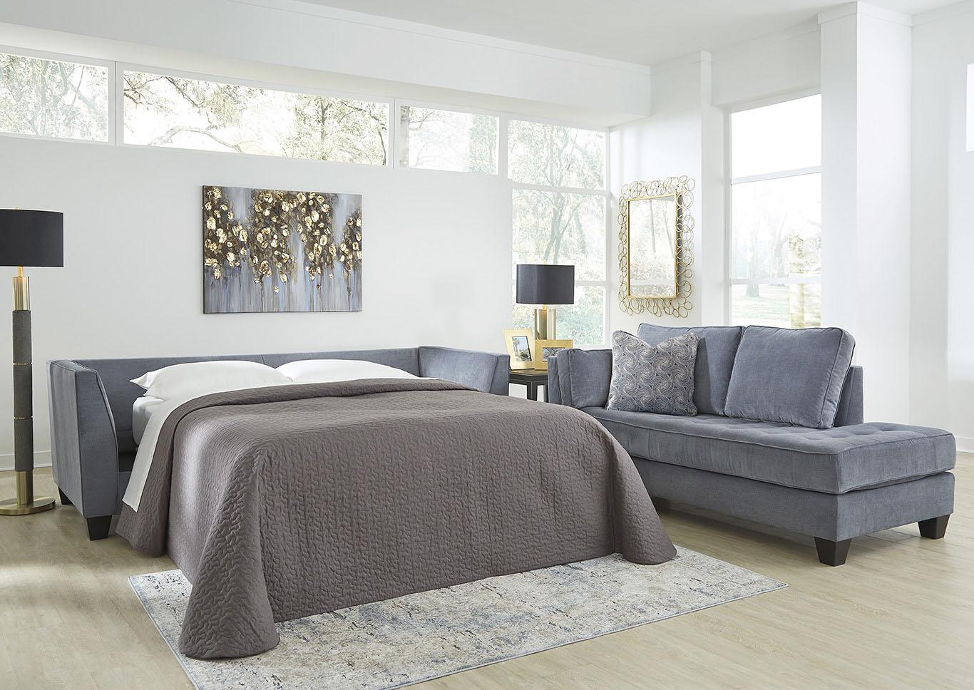 Wondrous 545056 Sciolo Cobalt Queen Sofa Sleeper Andrewgaddart Wooden Chair Designs For Living Room Andrewgaddartcom