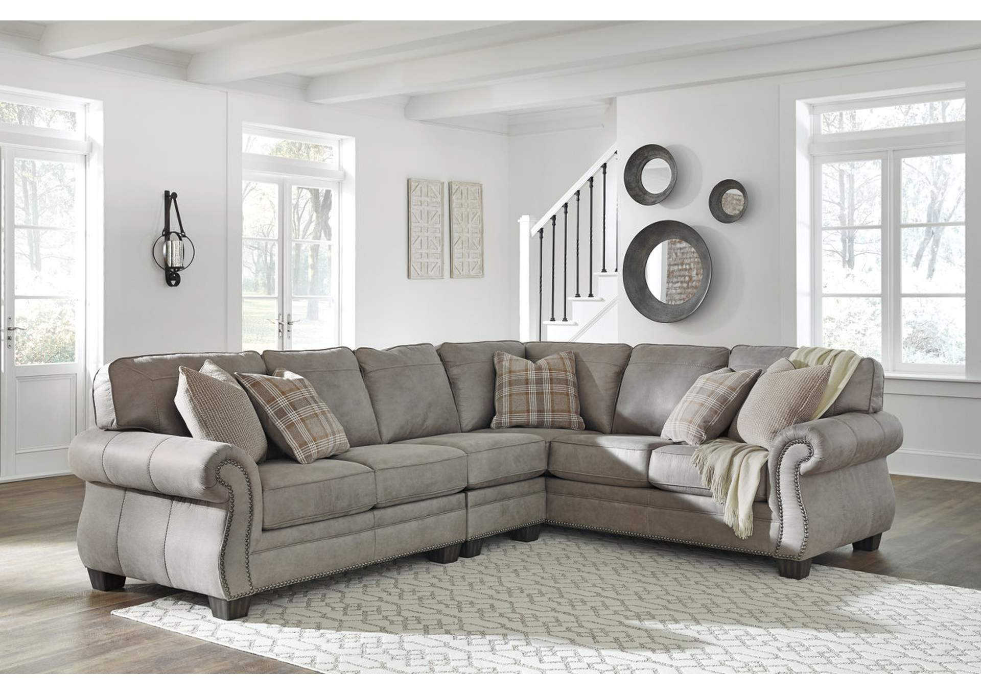 Olsberg Steel LAF Sectional,Signature Design By Ashley