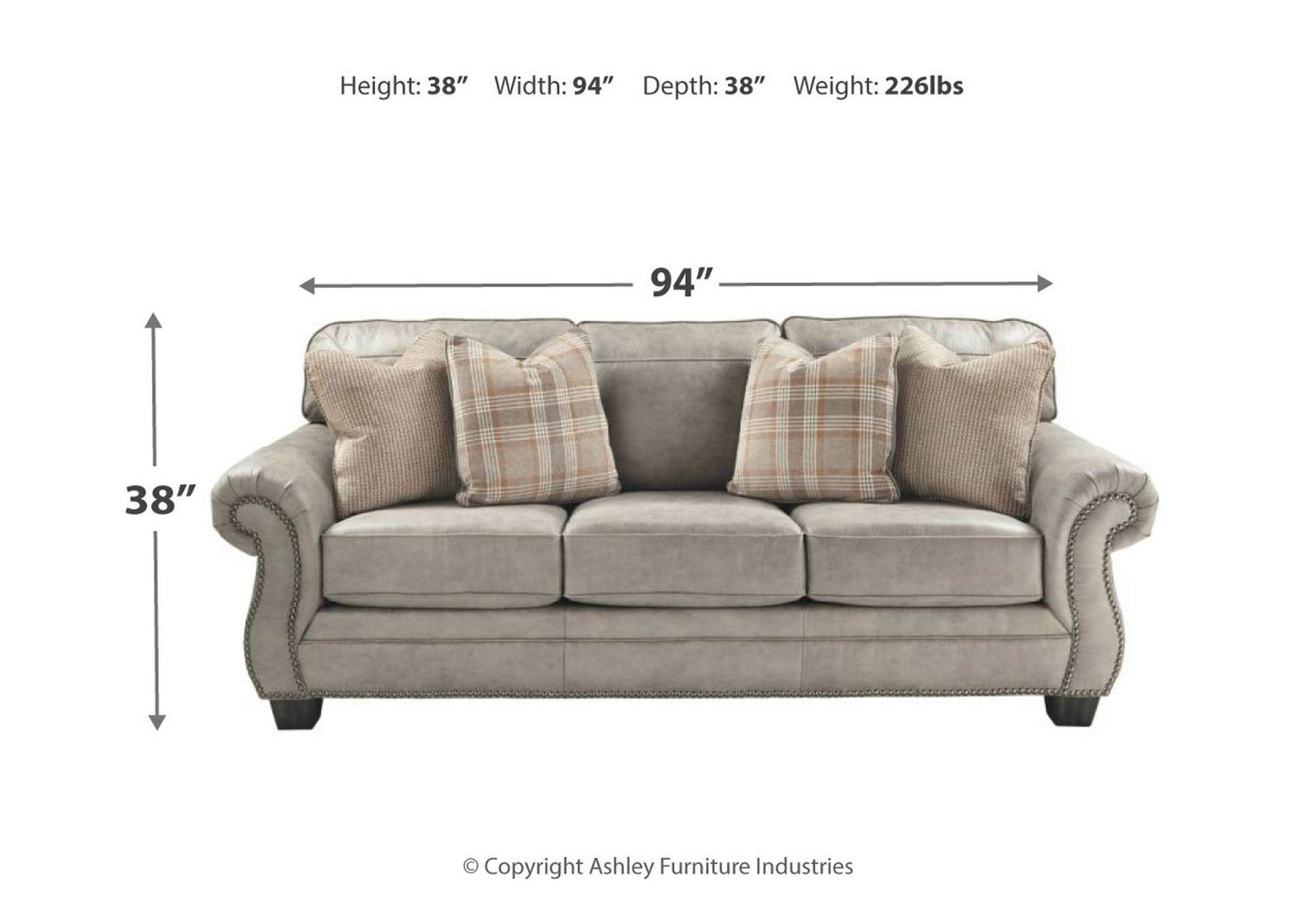 Olsberg Steel Queen Sofa Sleeper,Signature Design By Ashley