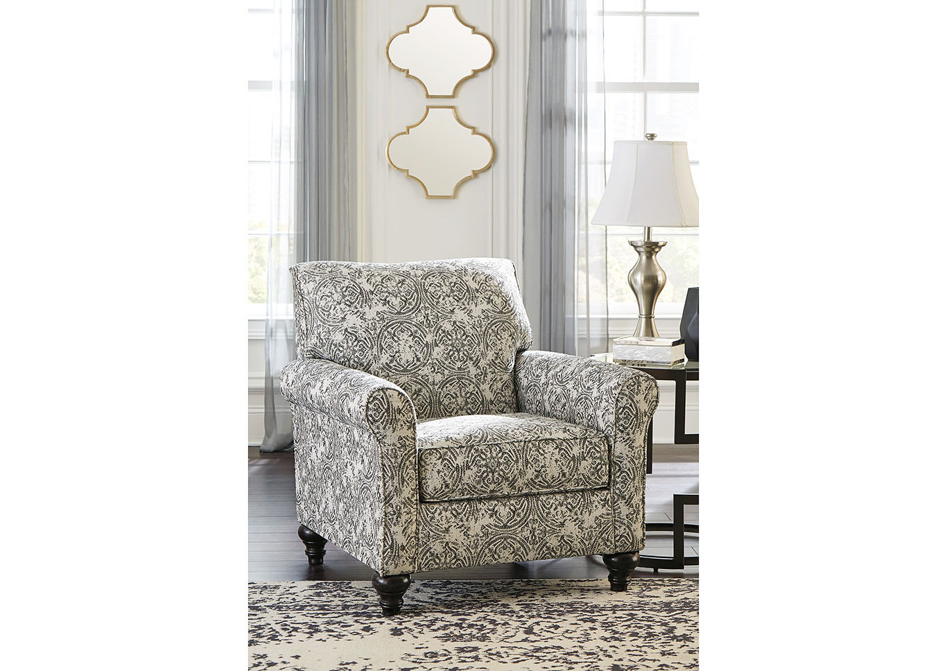 Praylor Slate Accent Chair,Signature Design By Ashley