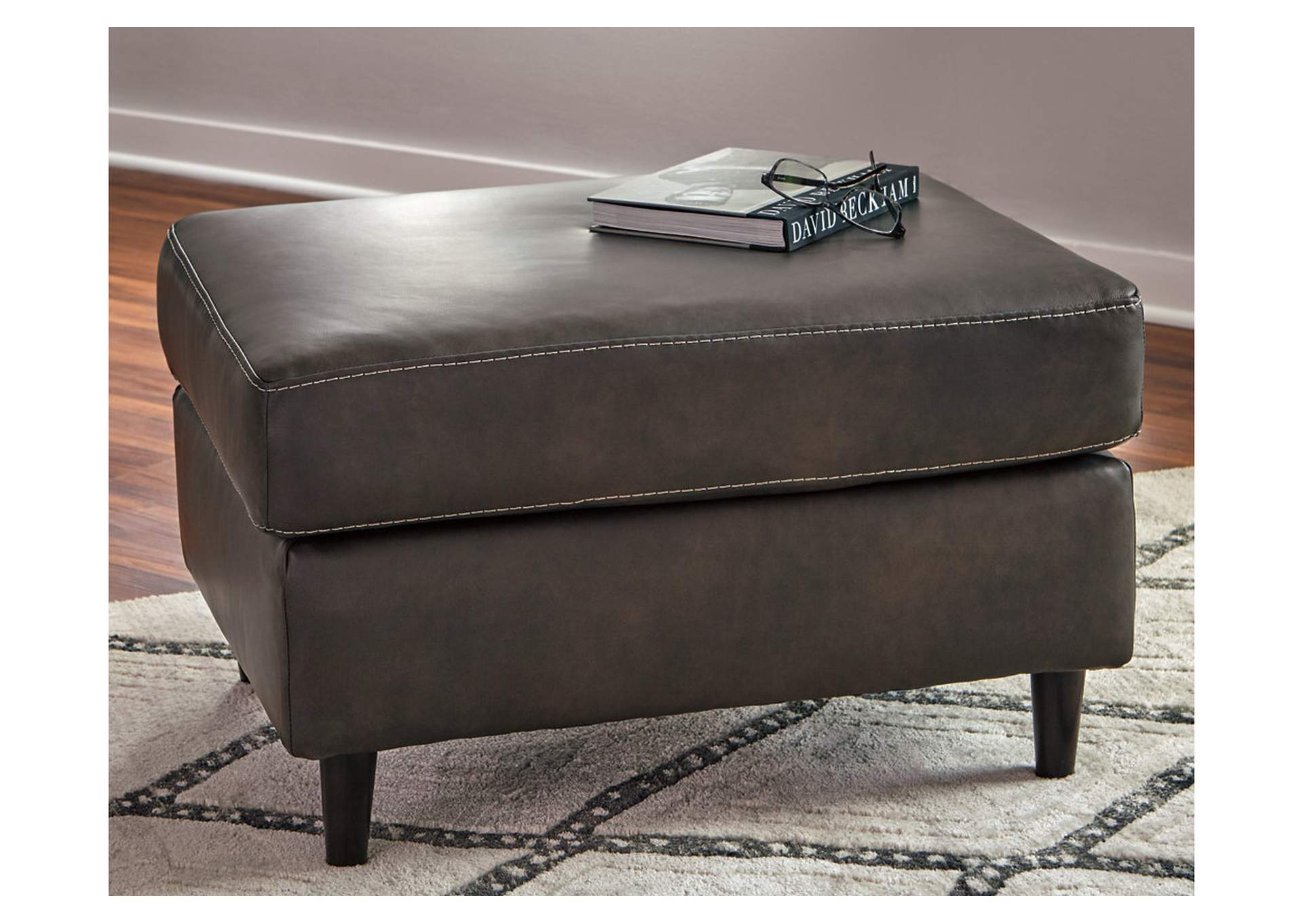 Hettinger Ash Ottoman,Signature Design By Ashley