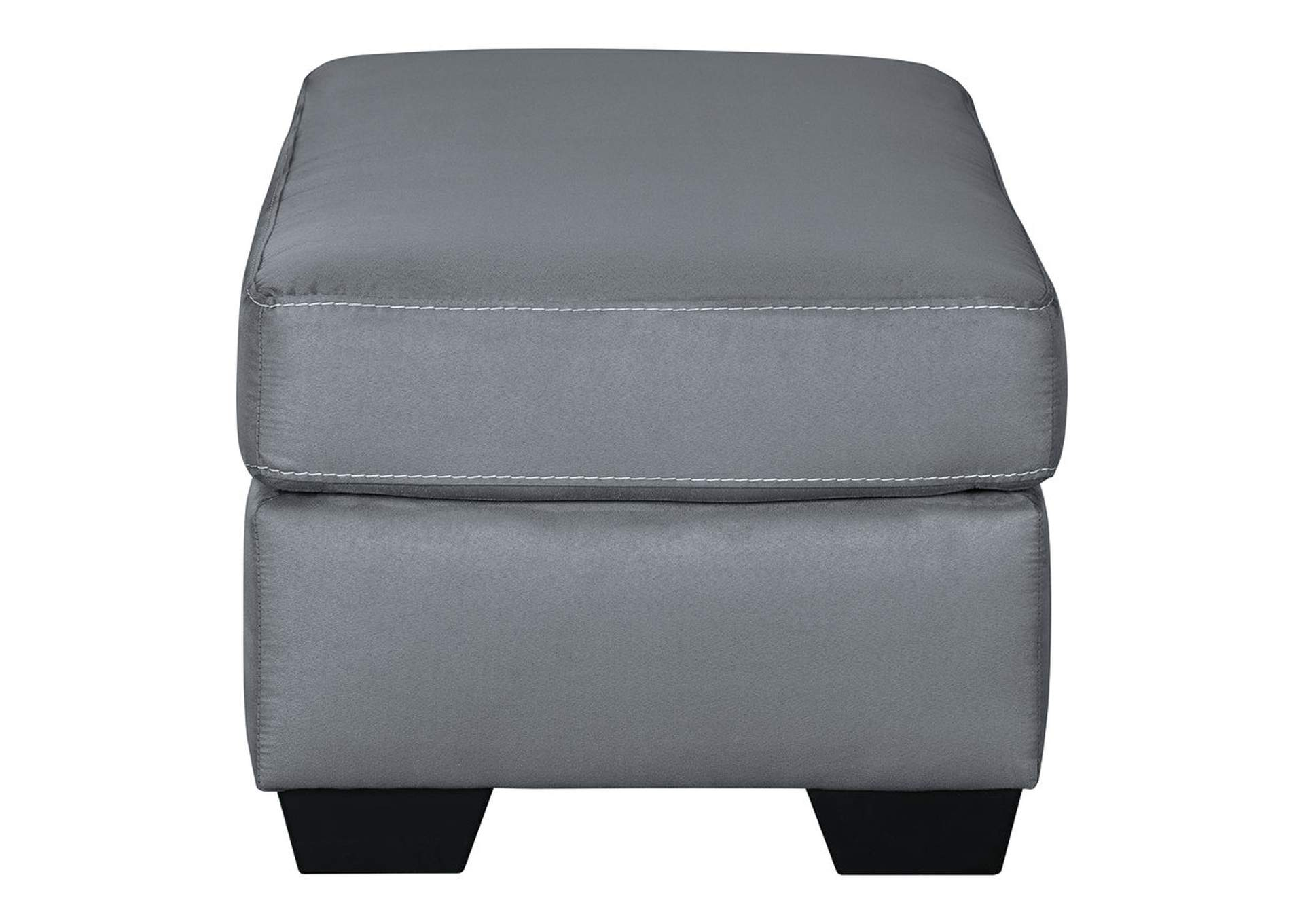Kanosh Steel Ottoman,Ashley