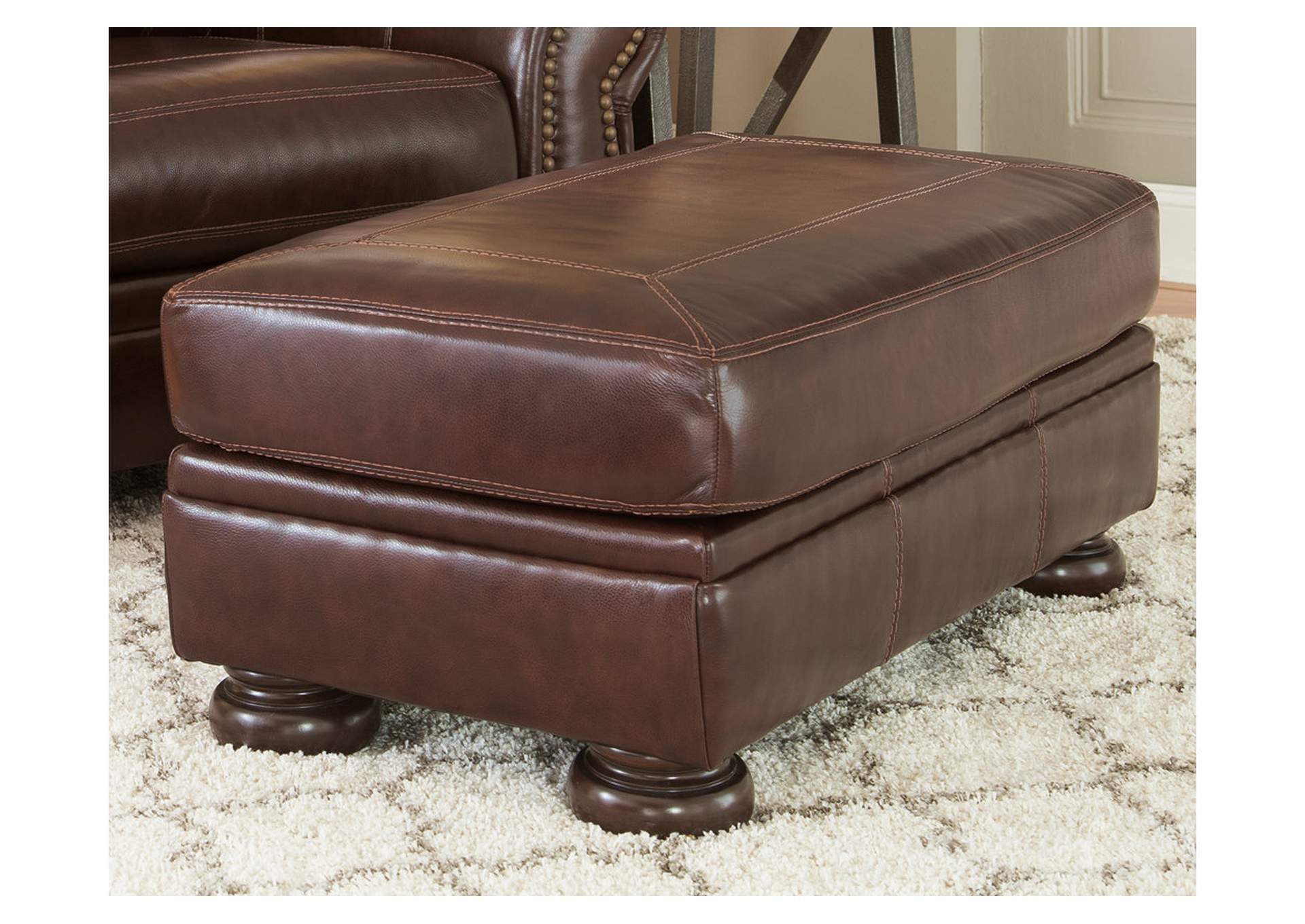Banner Coffee Ottoman,Signature Design By Ashley