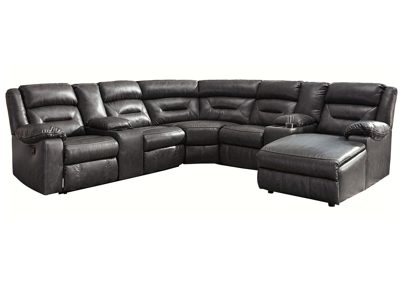 Astounding Star Furniture Coahoma Dark Gray Pu Leather 7 Piece Raf Uwap Interior Chair Design Uwaporg
