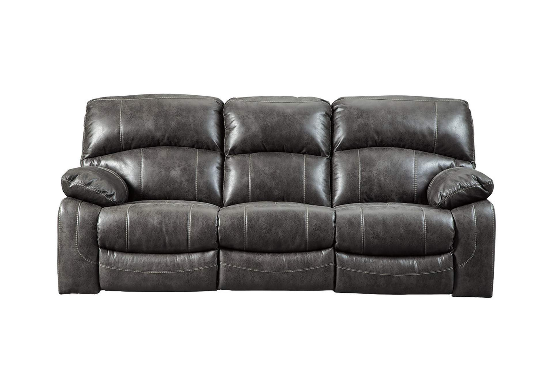Dunwell Steel Power Reclining Sofa w/Adjustable Headrest,Signature Design By Ashley