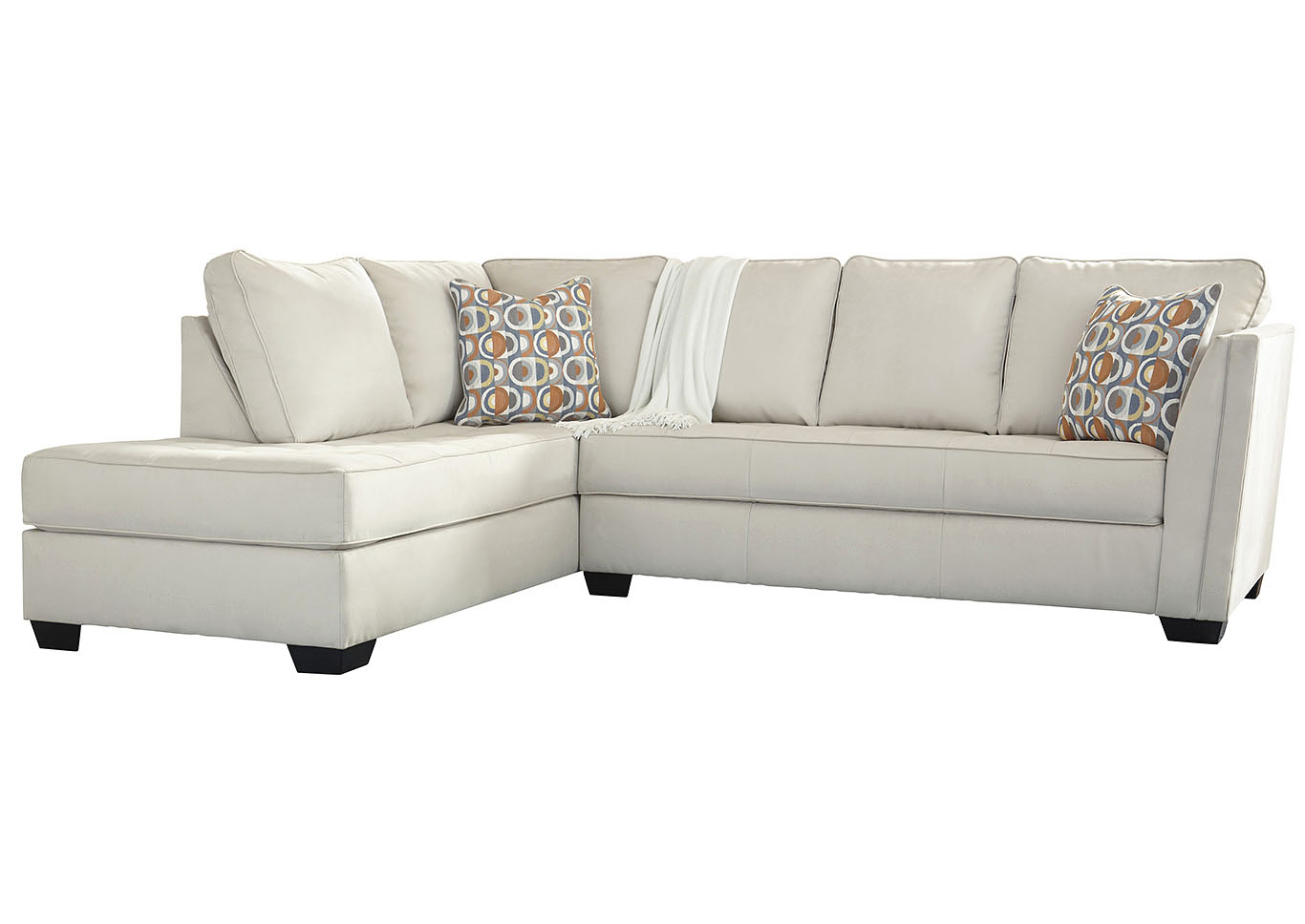 Filone Ivory RAF Sofa Chaise,Signature Design By Ashley