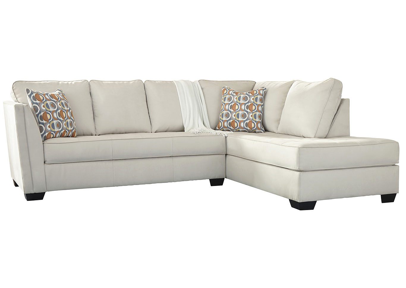 Filone Ivory LAF Sofa Chaise,Signature Design By Ashley