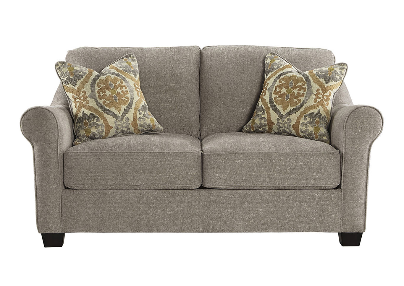 Ivan Smith Leola Slate Loveseat