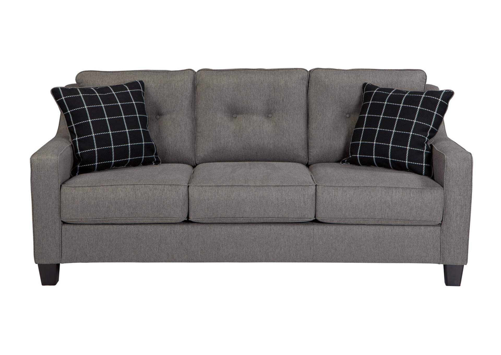 Goree S Furniture Opelika Al Brindon Charcoal Sofa