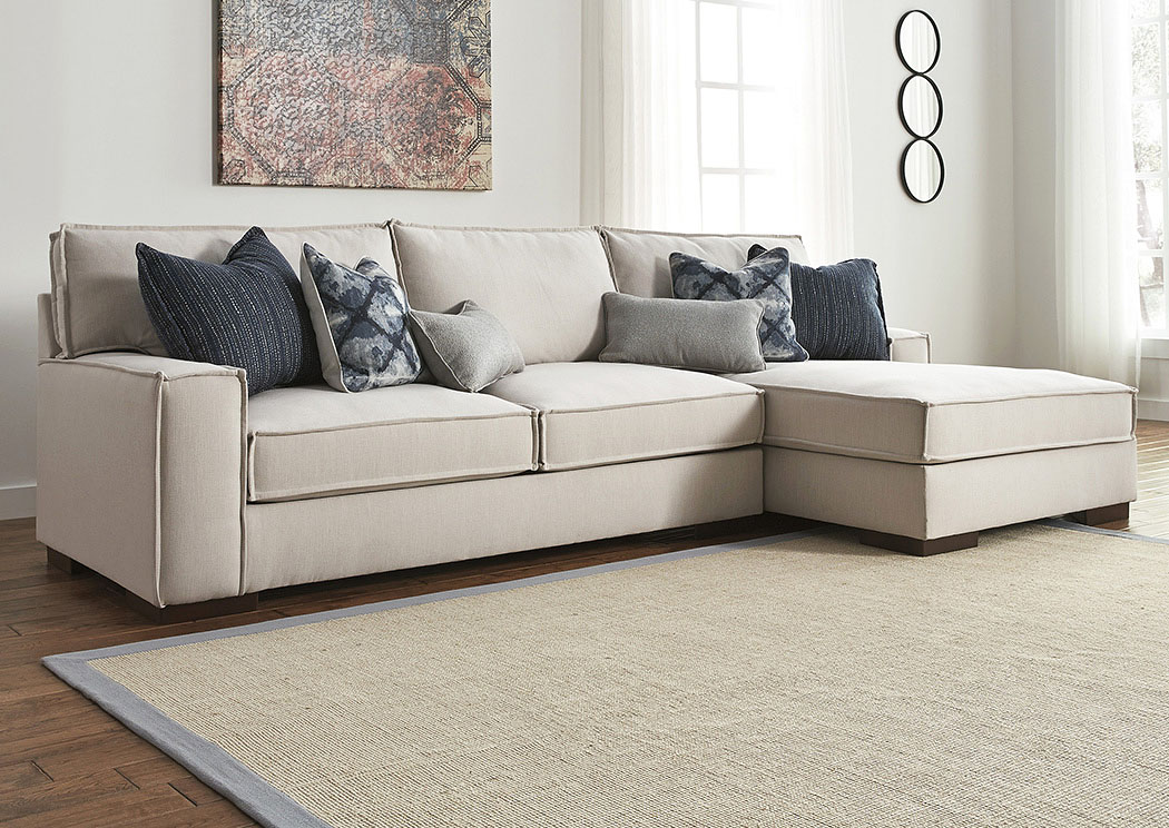 Kendleton Quartz Right Facing Corner Chaise Sectional,Benchcraft